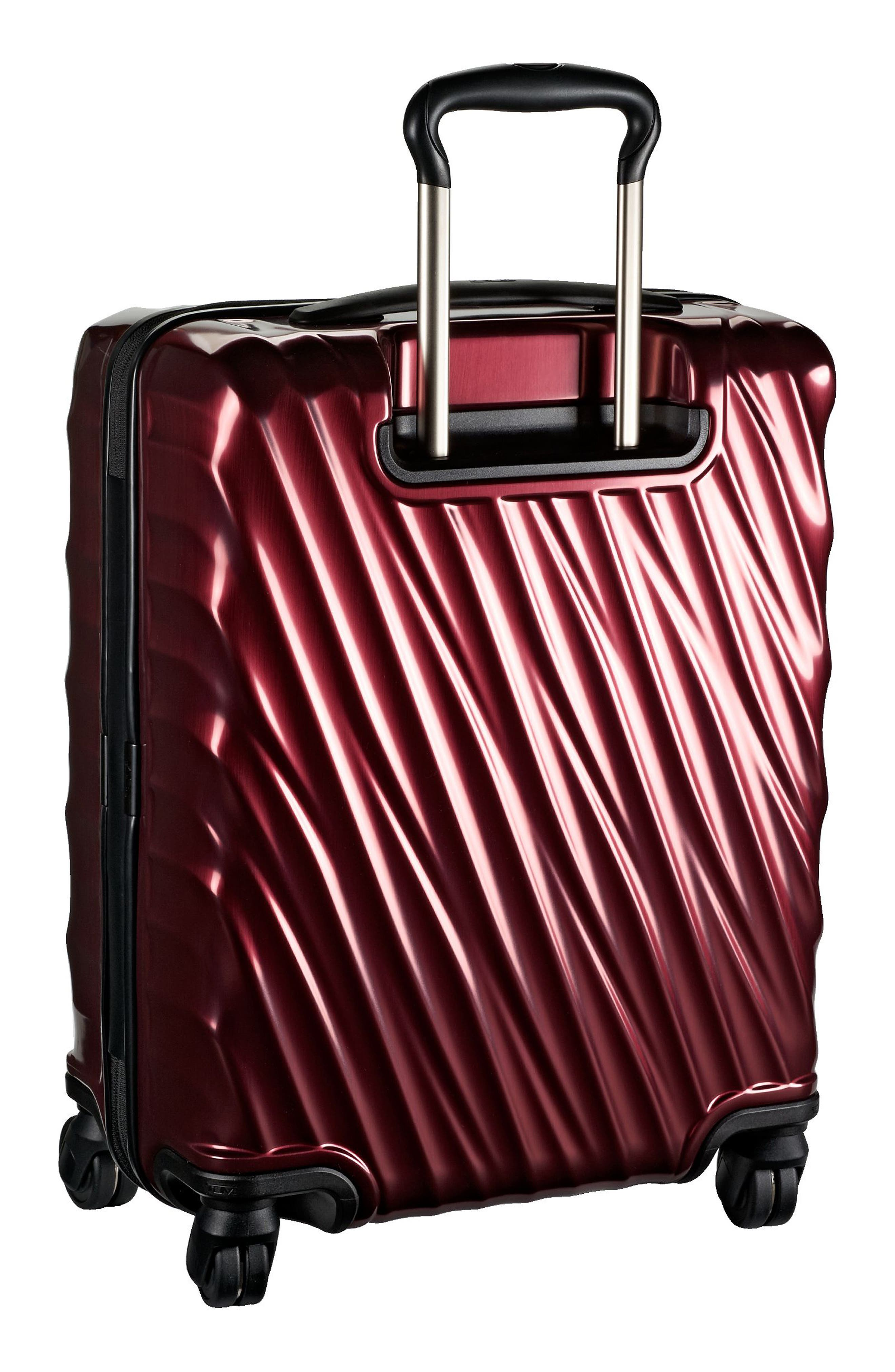19 Degree 22-Inch Continental Wheeled Carry-On,                             Alternate thumbnail 5, color,                             Bordeaux