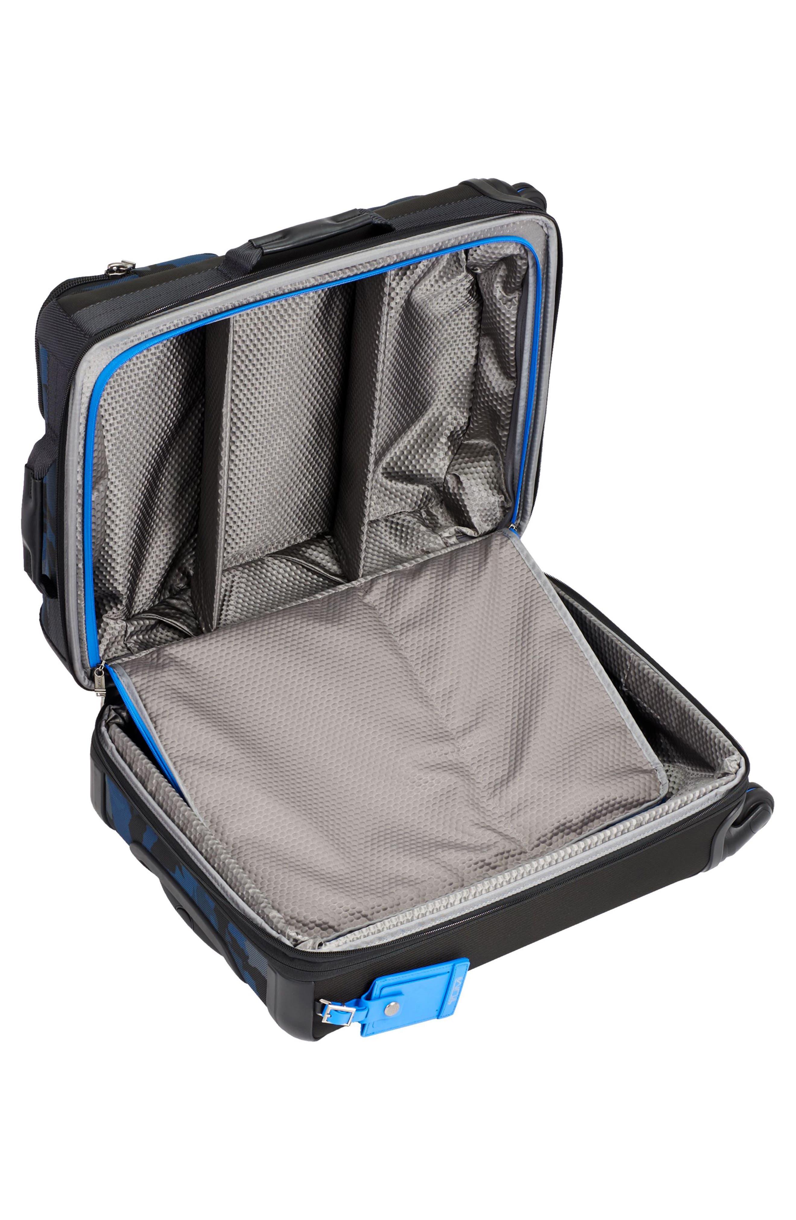 Alpha Bravo Kirtland 22 Inch Continental Wheeled Carry-On,                             Alternate thumbnail 3, color,                             Blue Camo