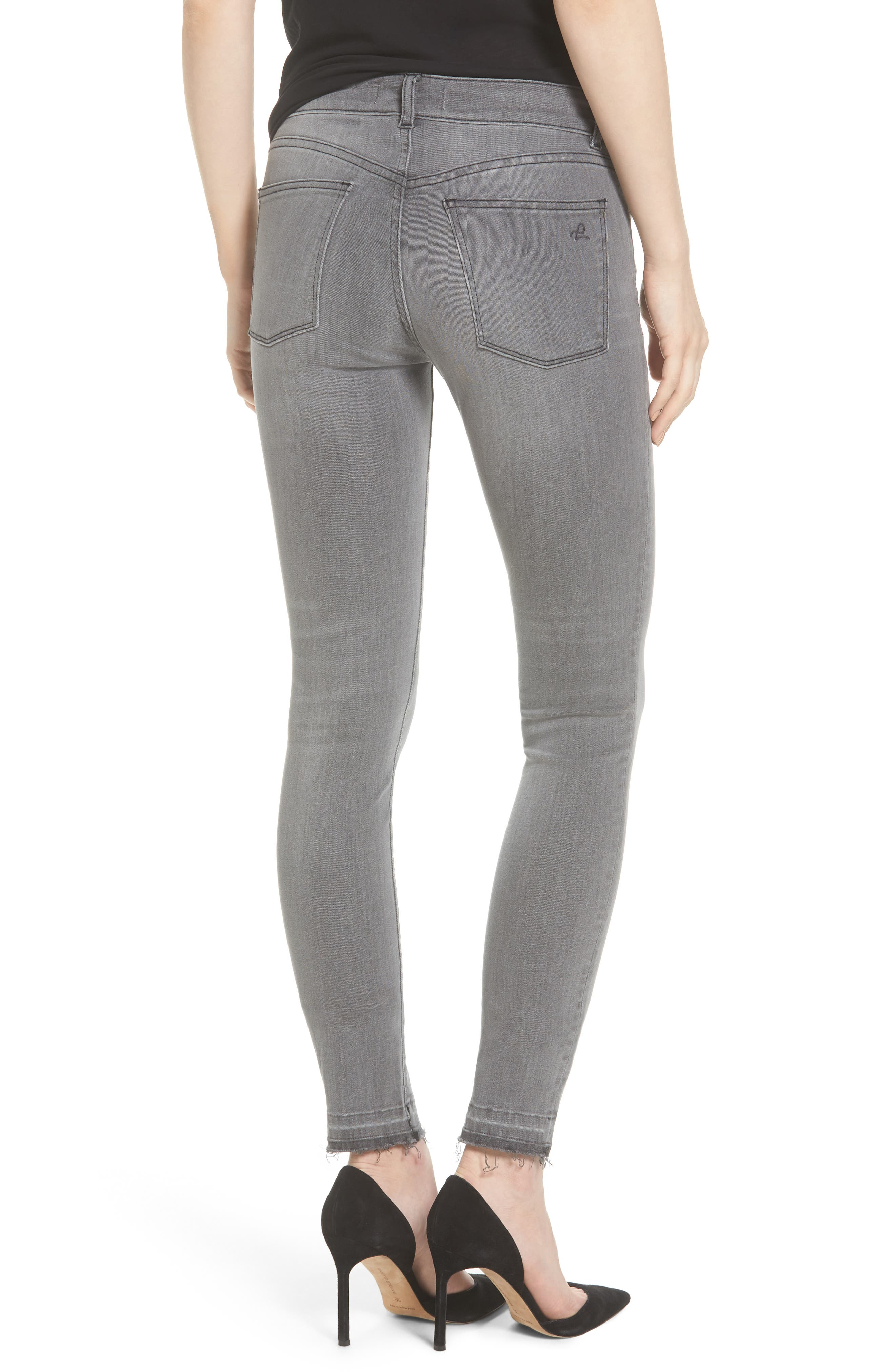 Alternate Image 2  - DL1961 Florence Skinny Jeans (Chadwick)