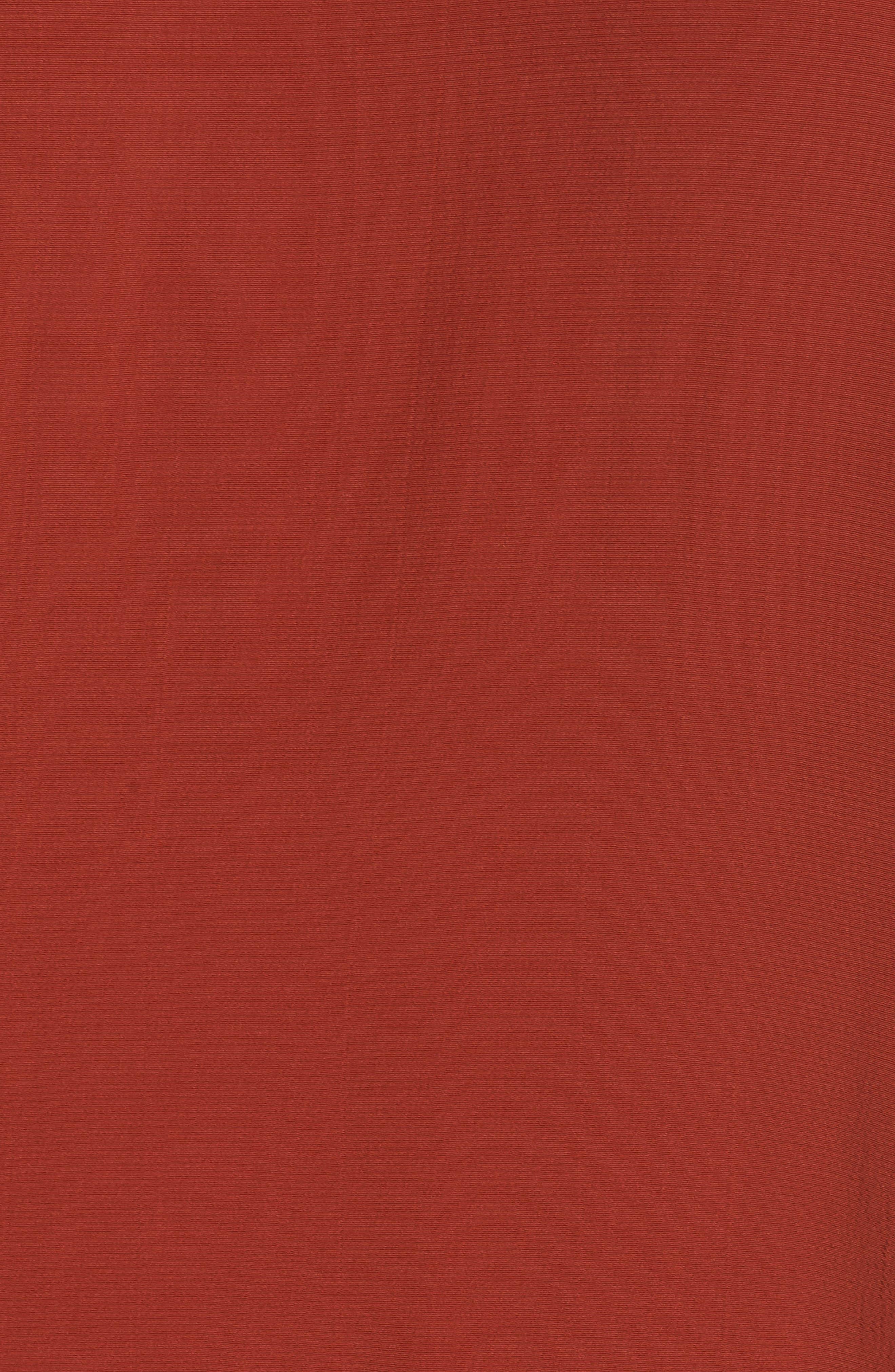 Tencel<sup>®</sup> Blend A-Line Shift Dress,                             Alternate thumbnail 5, color,                             Parka