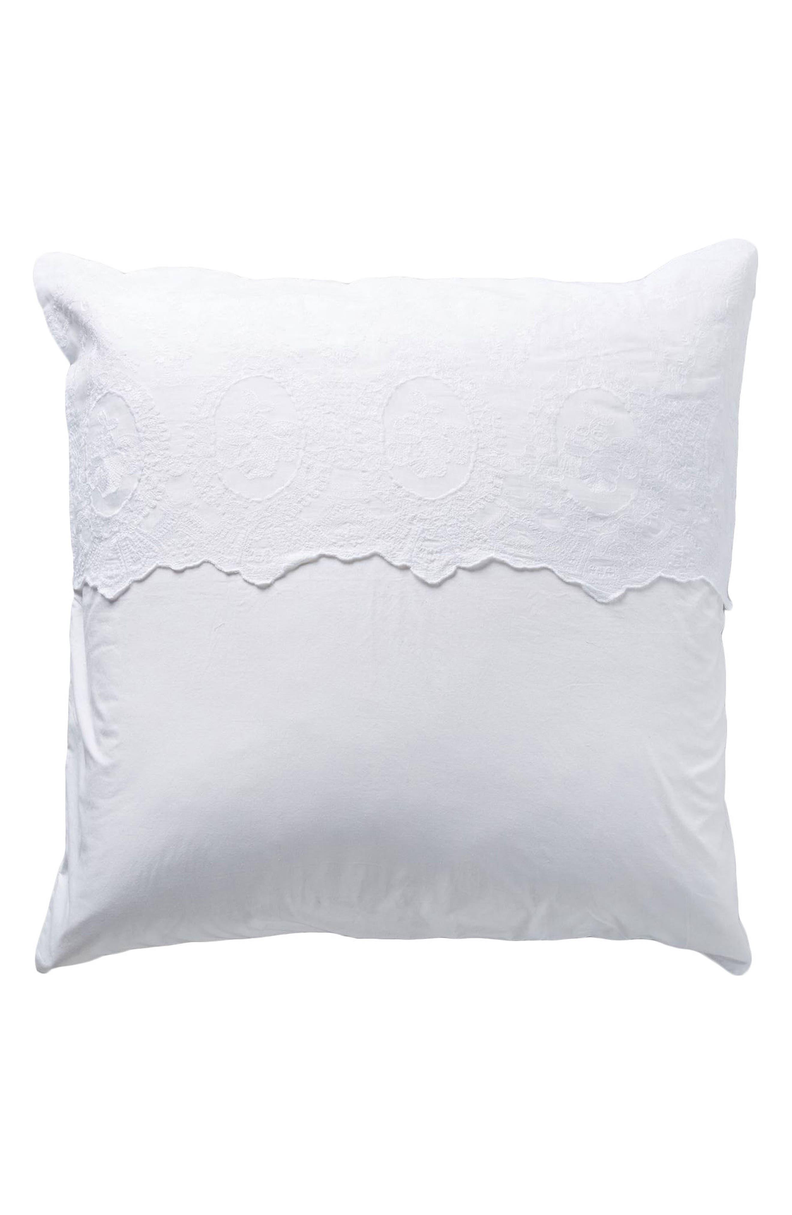 Grace Euro Sham,                         Main,                         color, White