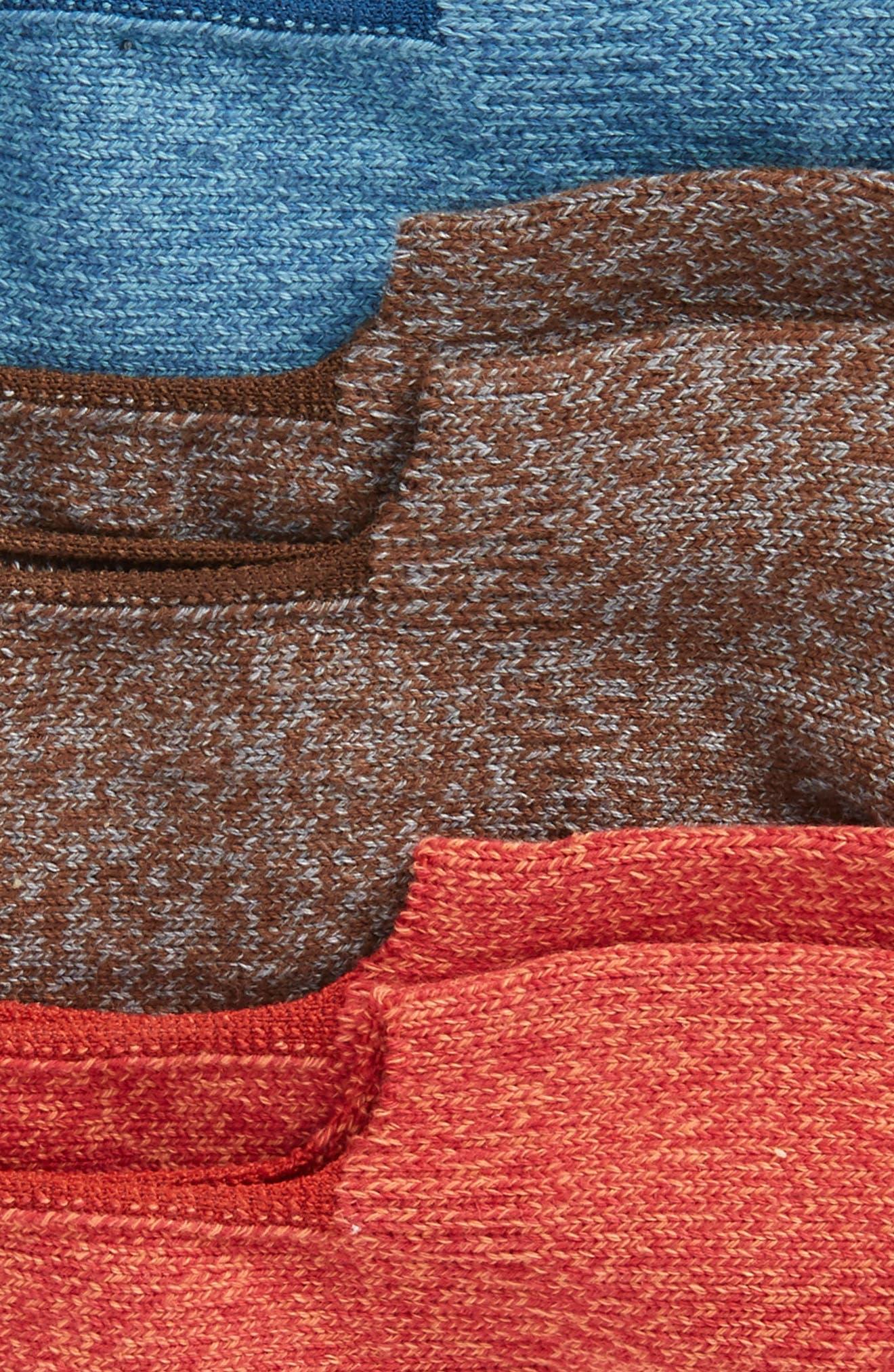 Alternate Image 2  - Sperry 3-Pack Solid Liner Socks