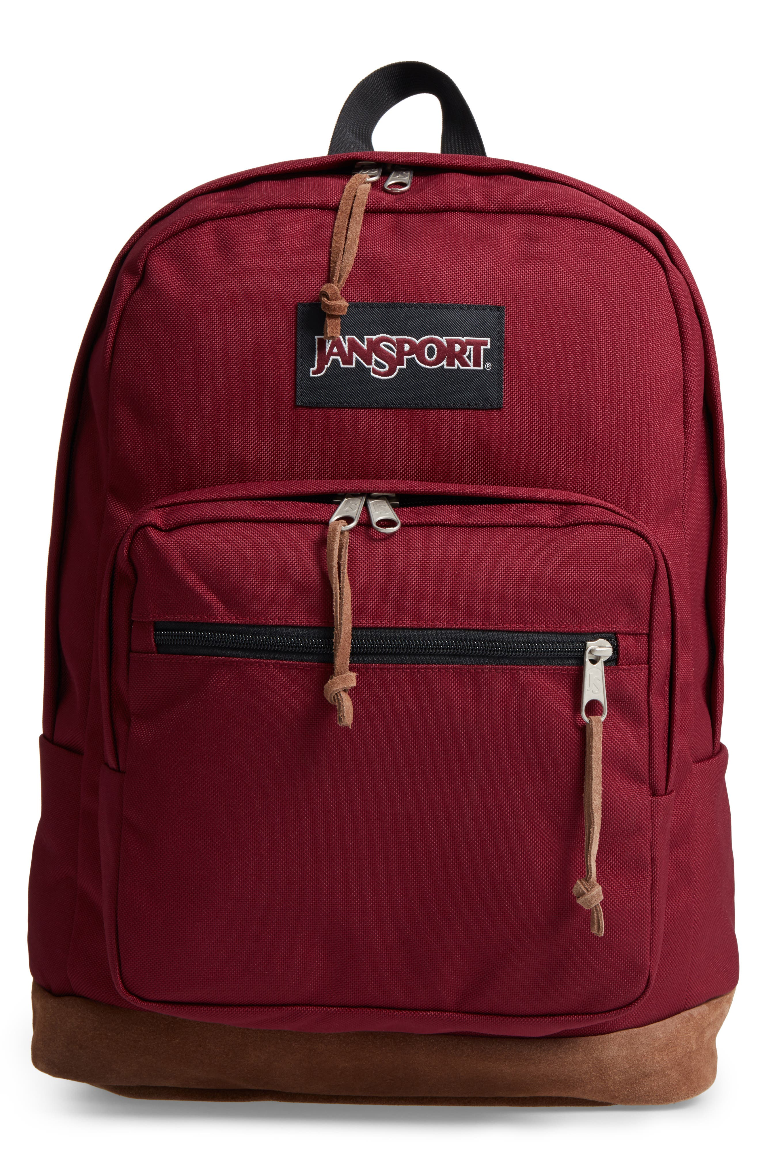 'Right Pack' Backpack,                             Main thumbnail 1, color,                             Russet Red