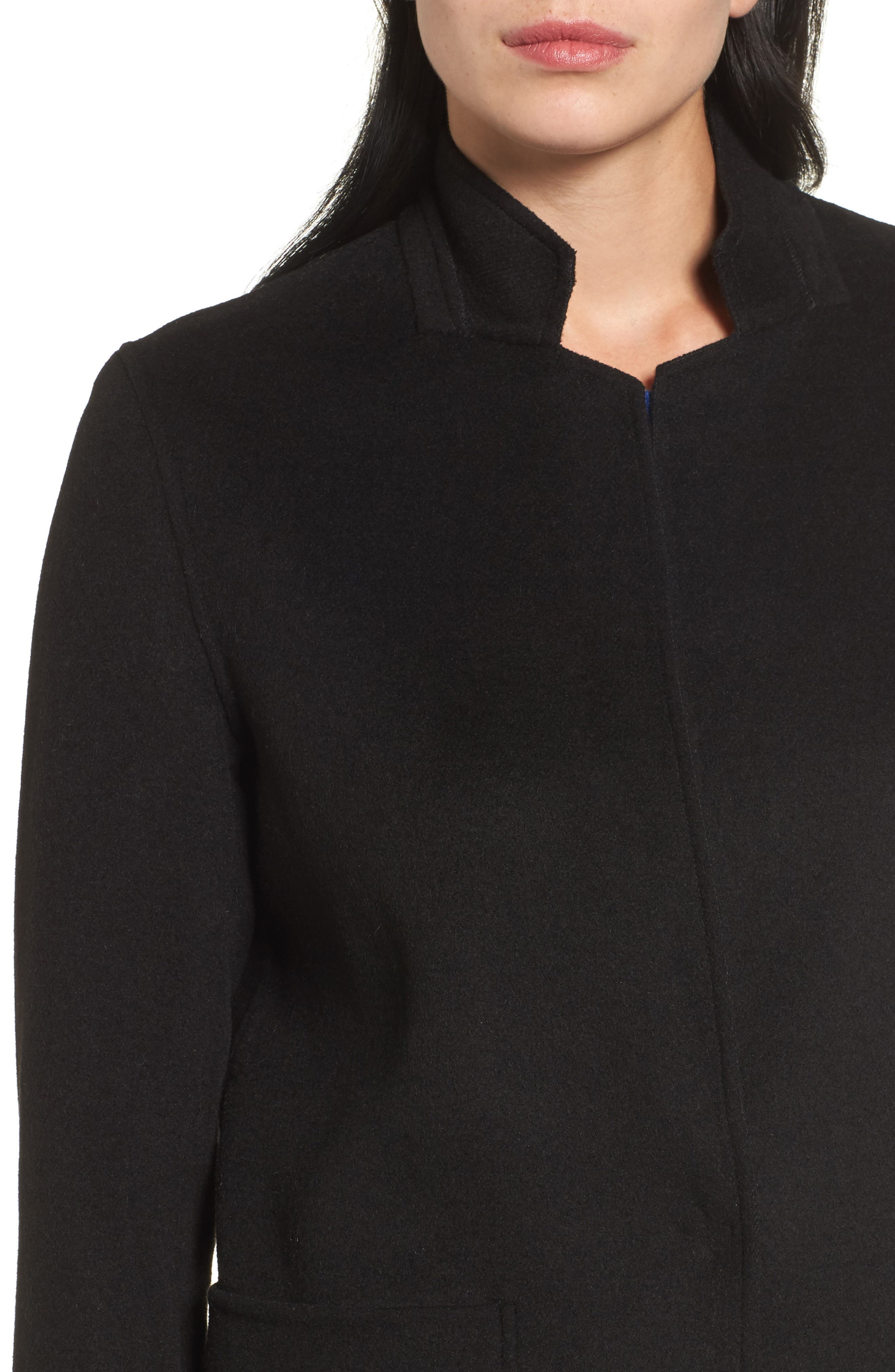 Alternate Image 4  - Kenneth Cole New York Double Face Wool Blend Coat