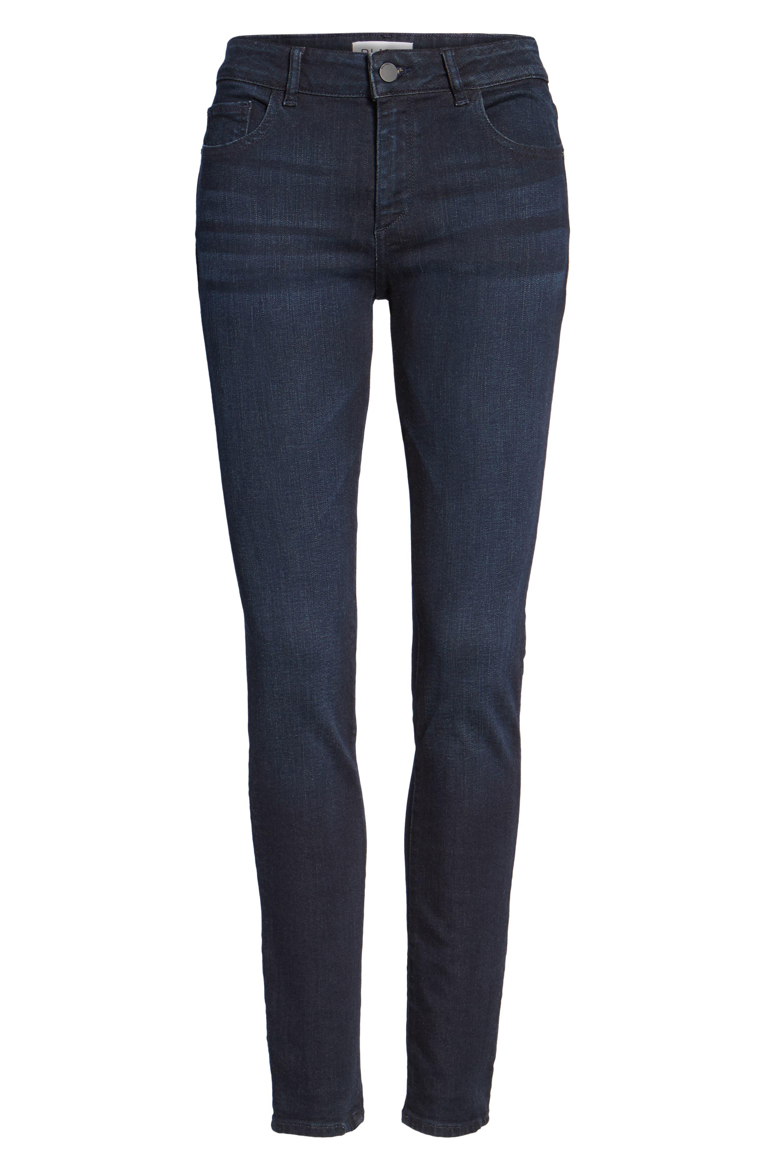Alternate Image 6  - DL1961 Florence Instasculpt Skinny Jeans (Carley)
