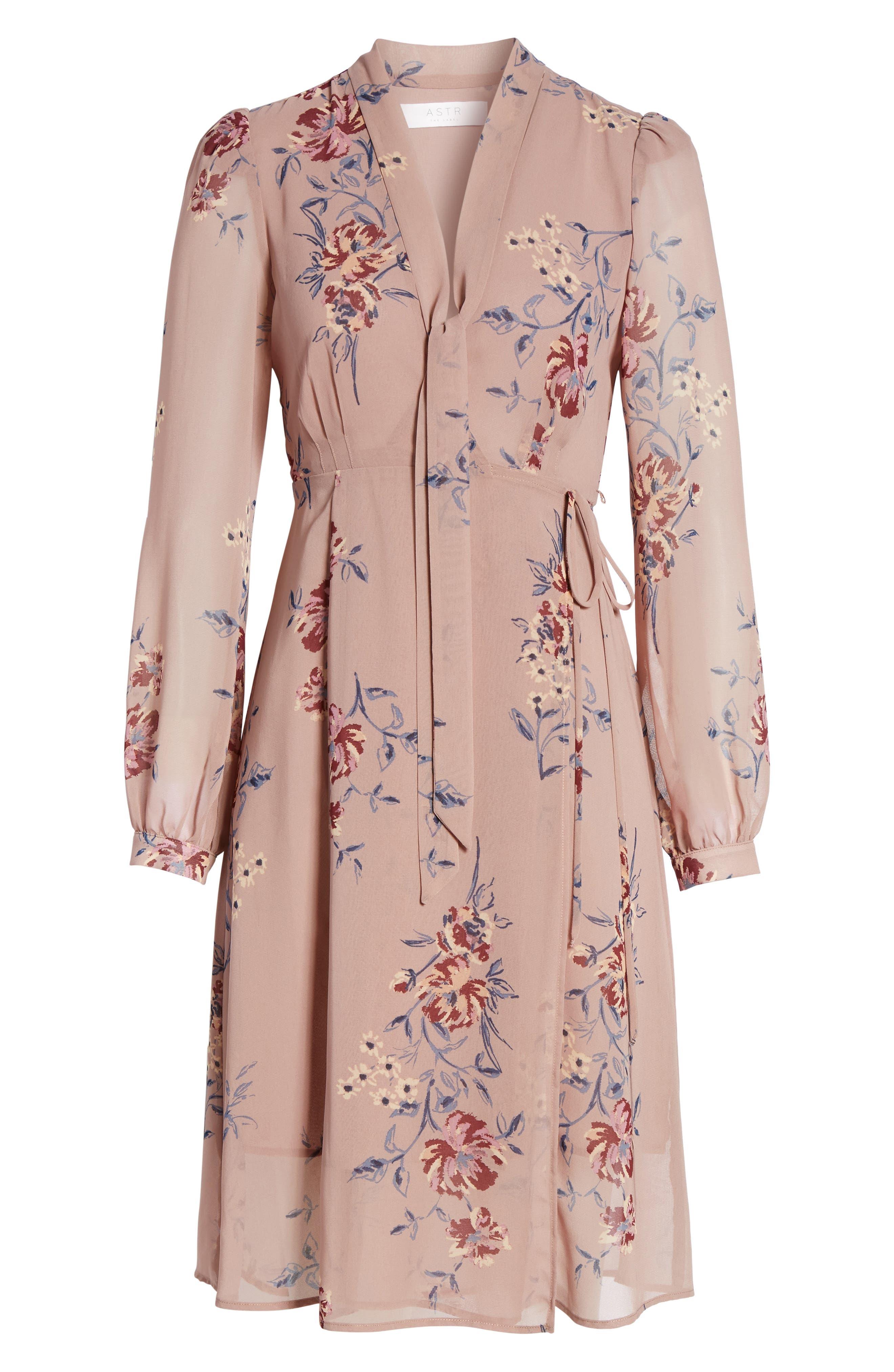 Alternate Image 6  - ASTR the Label Tyra A-Line Dress