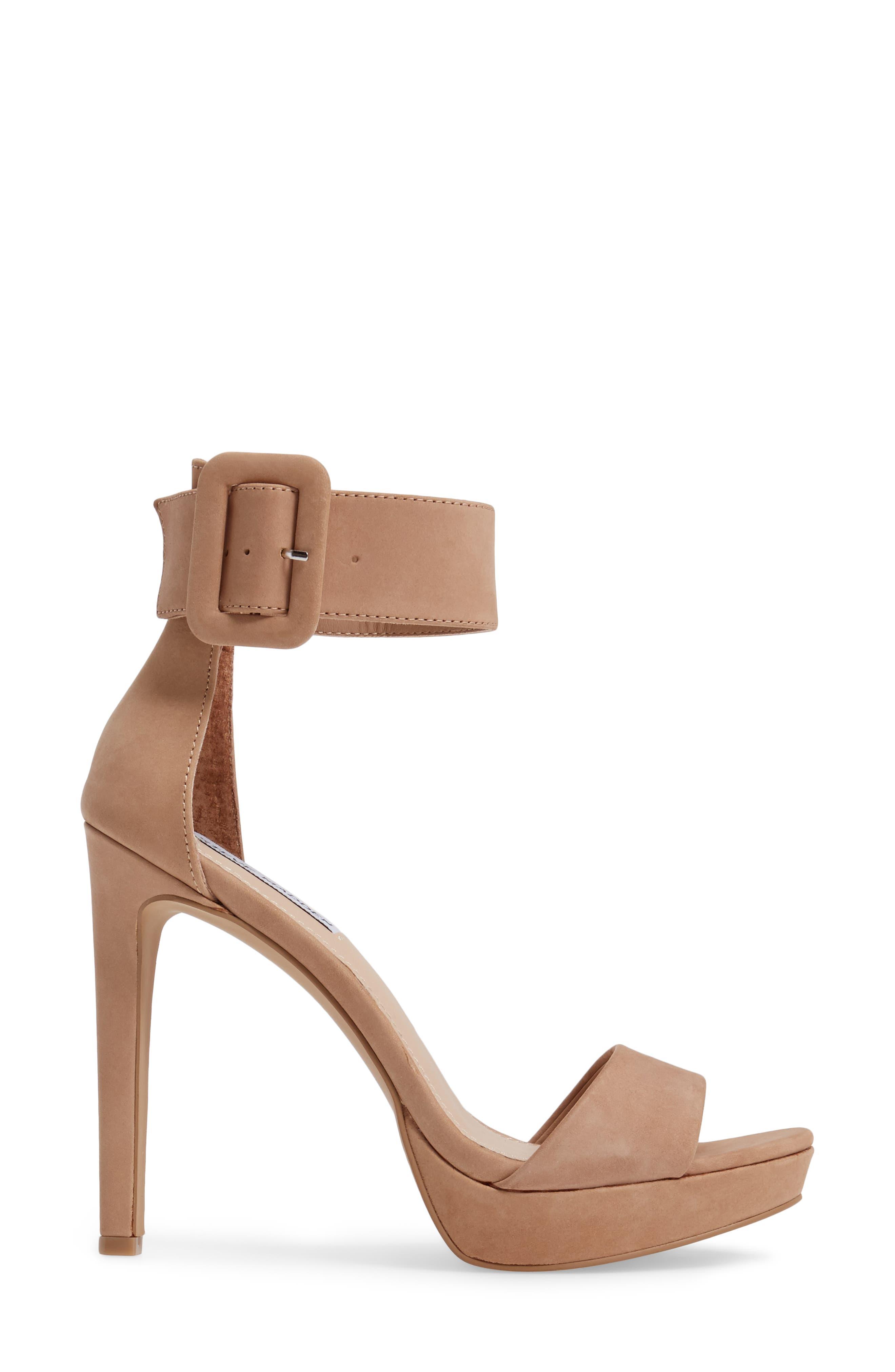 Circuit Sandal,                             Alternate thumbnail 3, color,                             Tan Nubuck Leather