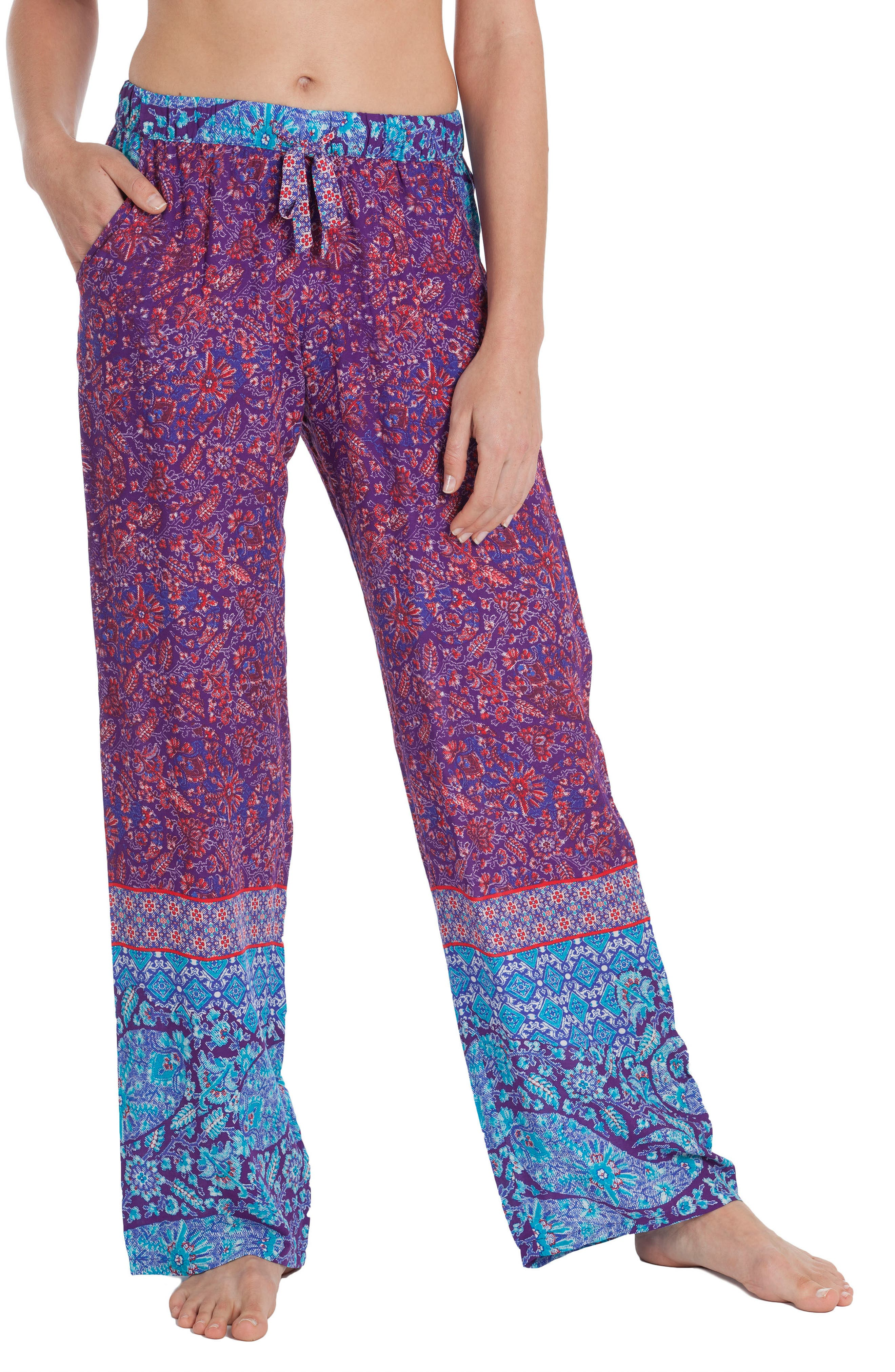 Alternate Image 1 Selected - In Bloom by Jonquil Wide Leg Pants