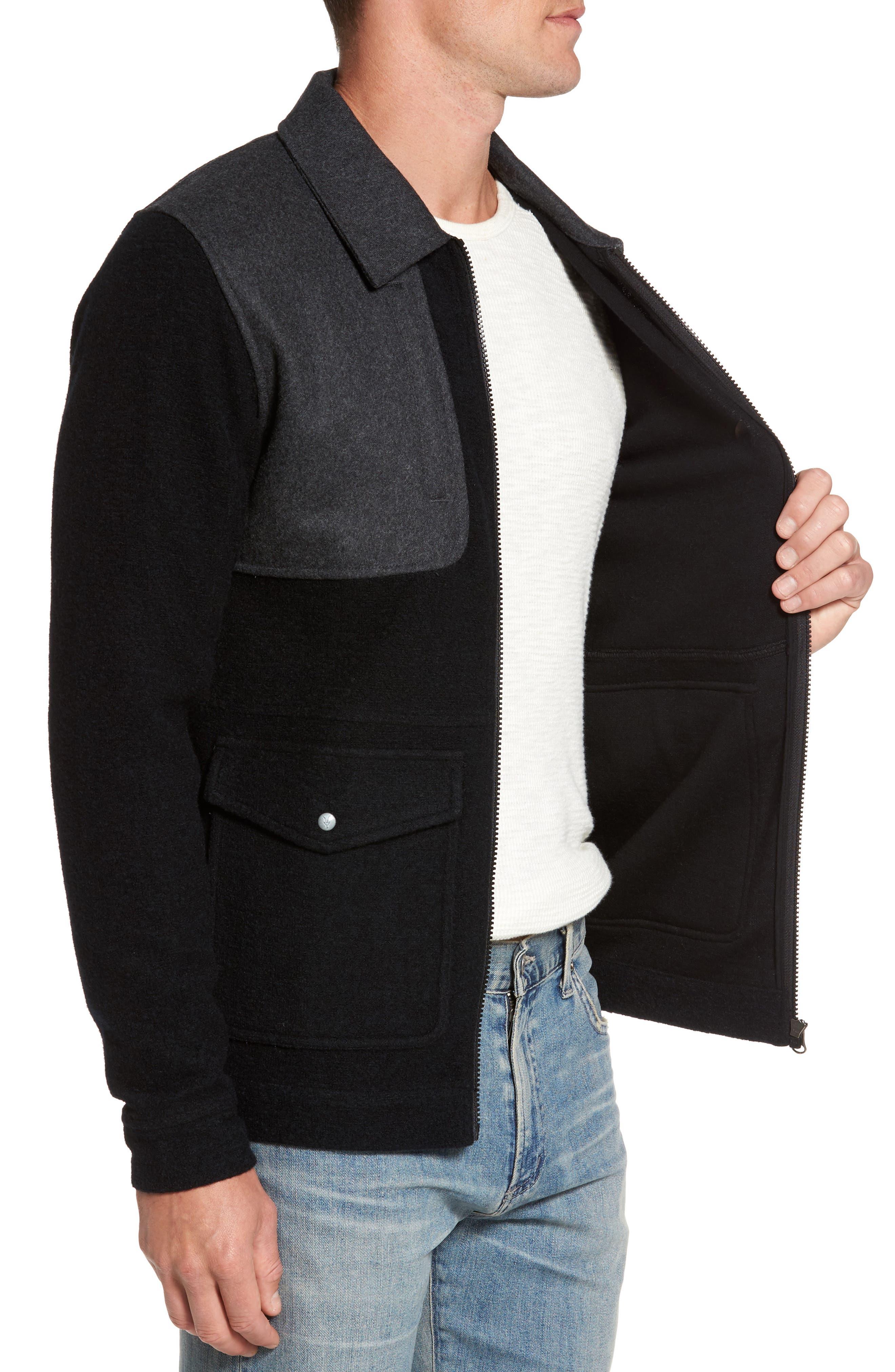 Alternate Image 3  - ibex Scout Around Merino Wool Blend Shirt Jacket