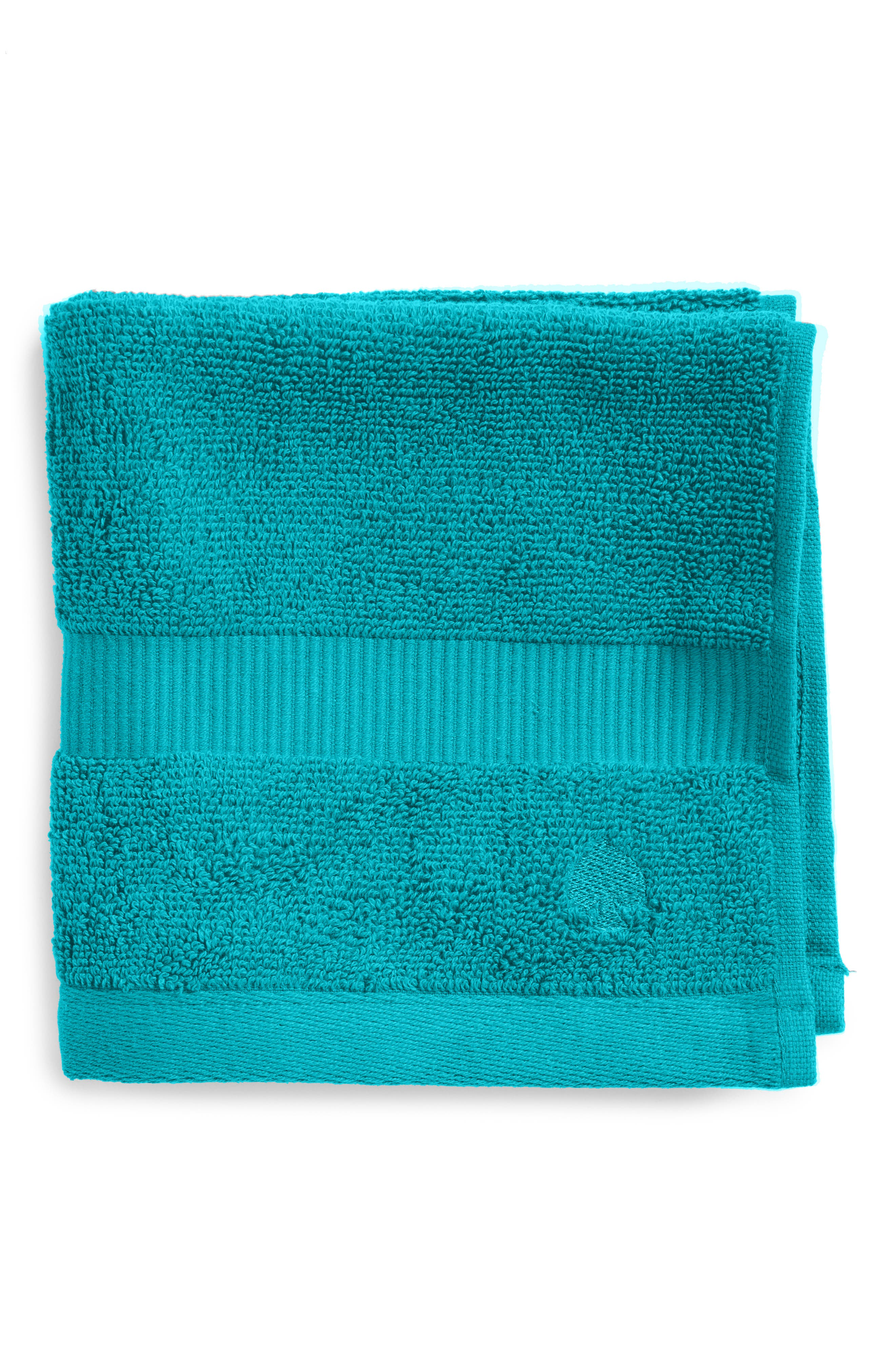 kate spade new york 'chattam stripe' wash towel