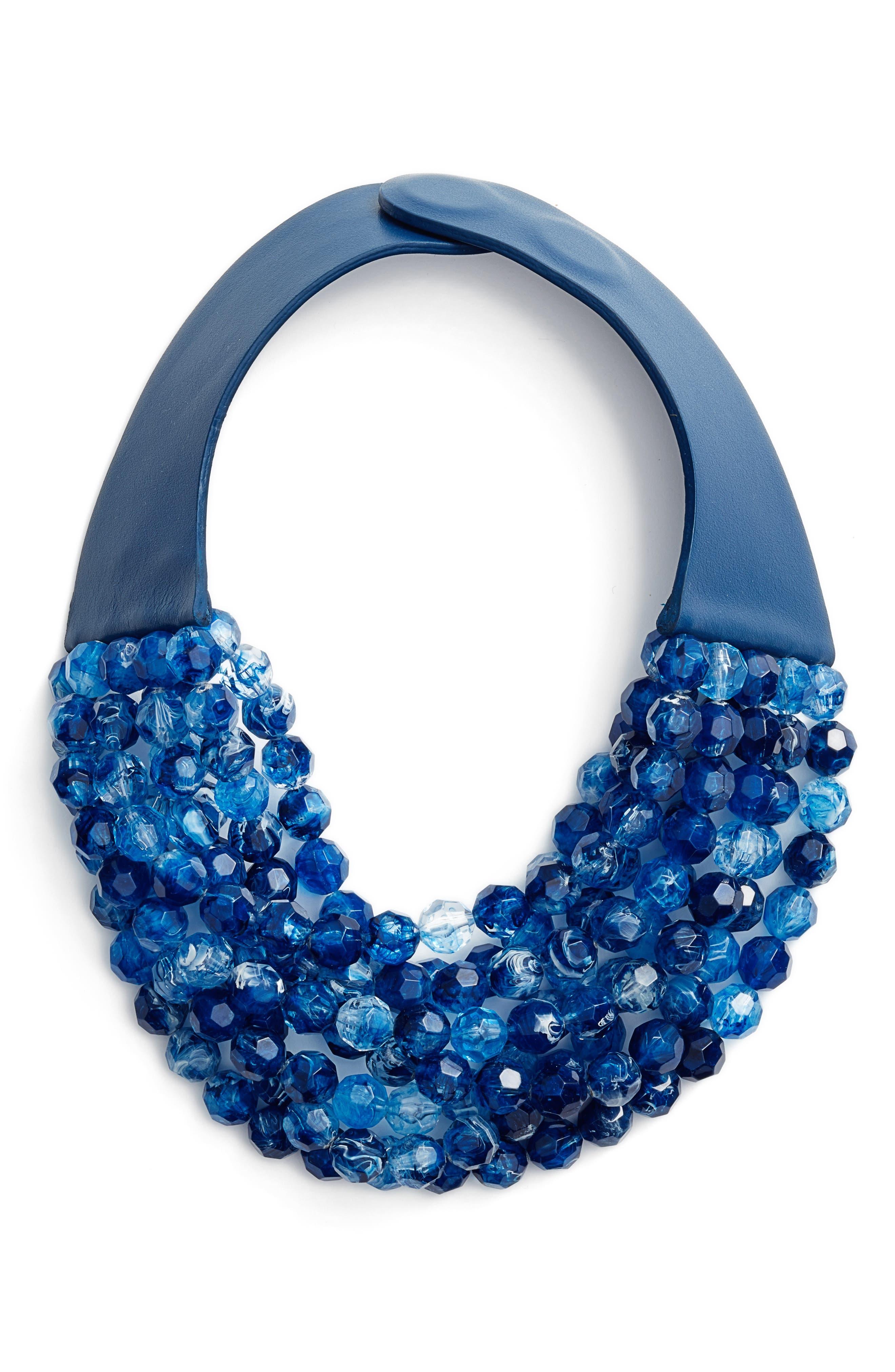 Alternate Image 1 Selected - Fairchild Baldwin Bella Beaded Collar Necklace