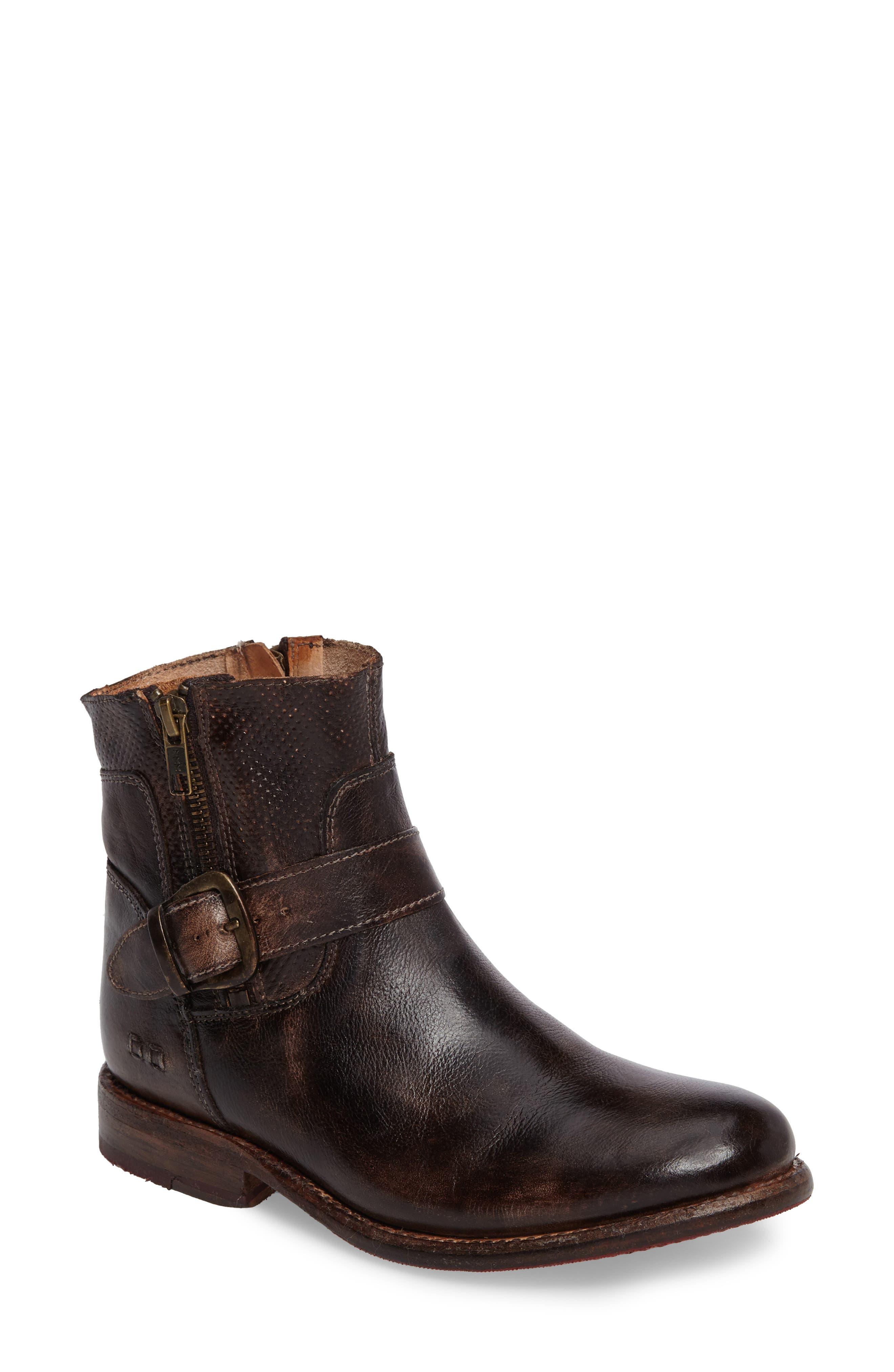 Becca Buckle Boot,                         Main,                         color, Testa Di Moro Rustic