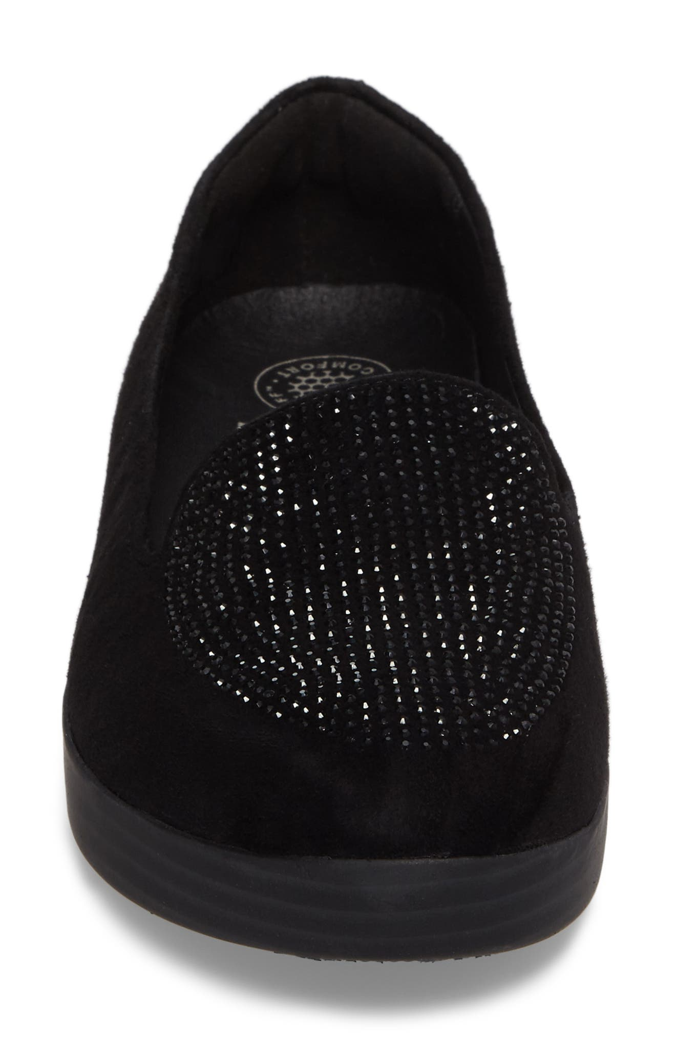 Alternate Image 4  - FitFlop Sparkly Sneakerloafer Slip-On (Women)