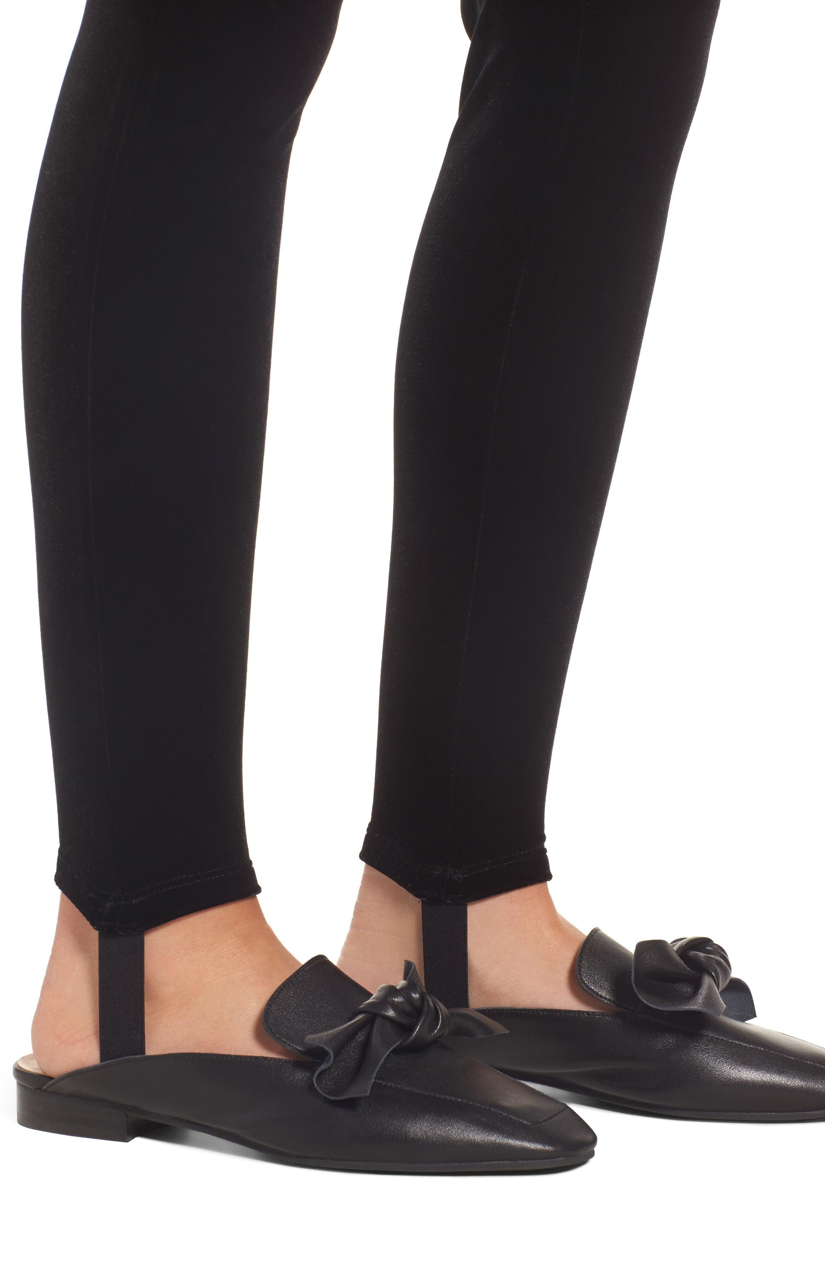 Alternate Image 4  - BP. Velour Stirrup Leggings