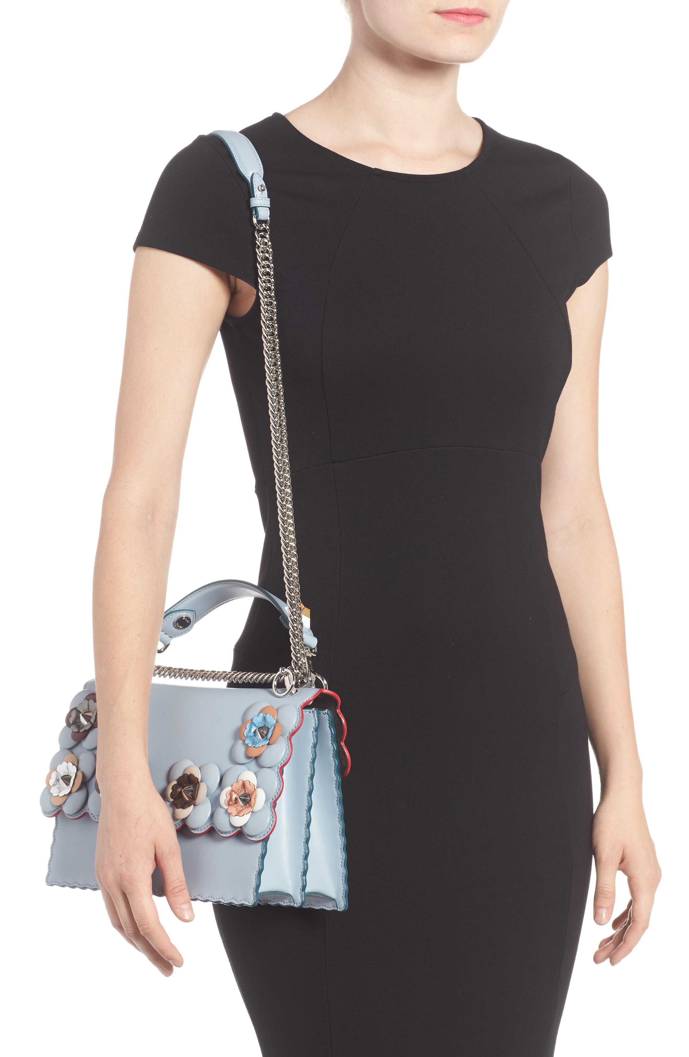 Alternate Image 2  - Fendi Kan I Liberty Leather Shoulder Bag