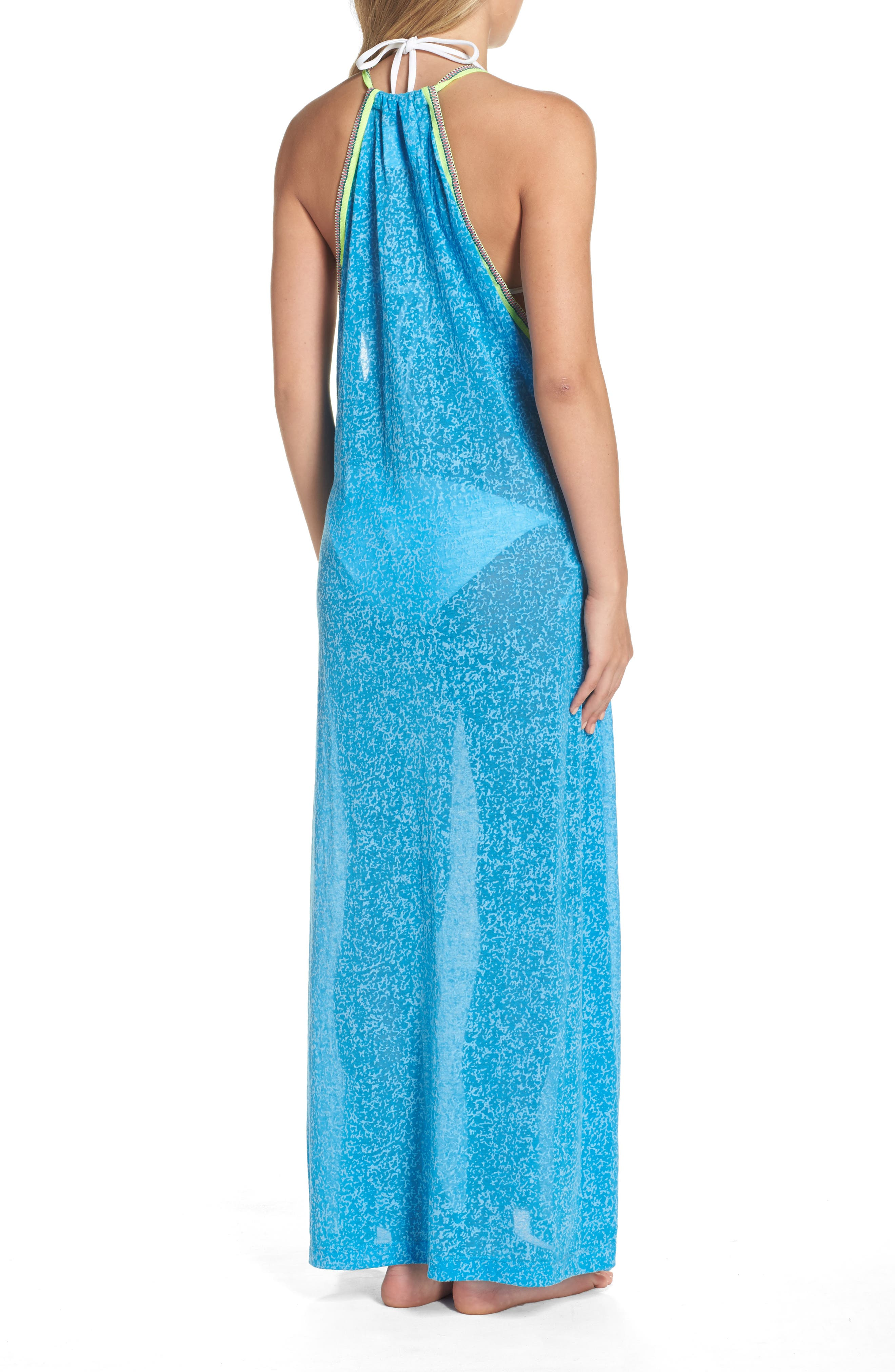 Alternate Image 2  - PITUSA Cover-Up Maxi Dress