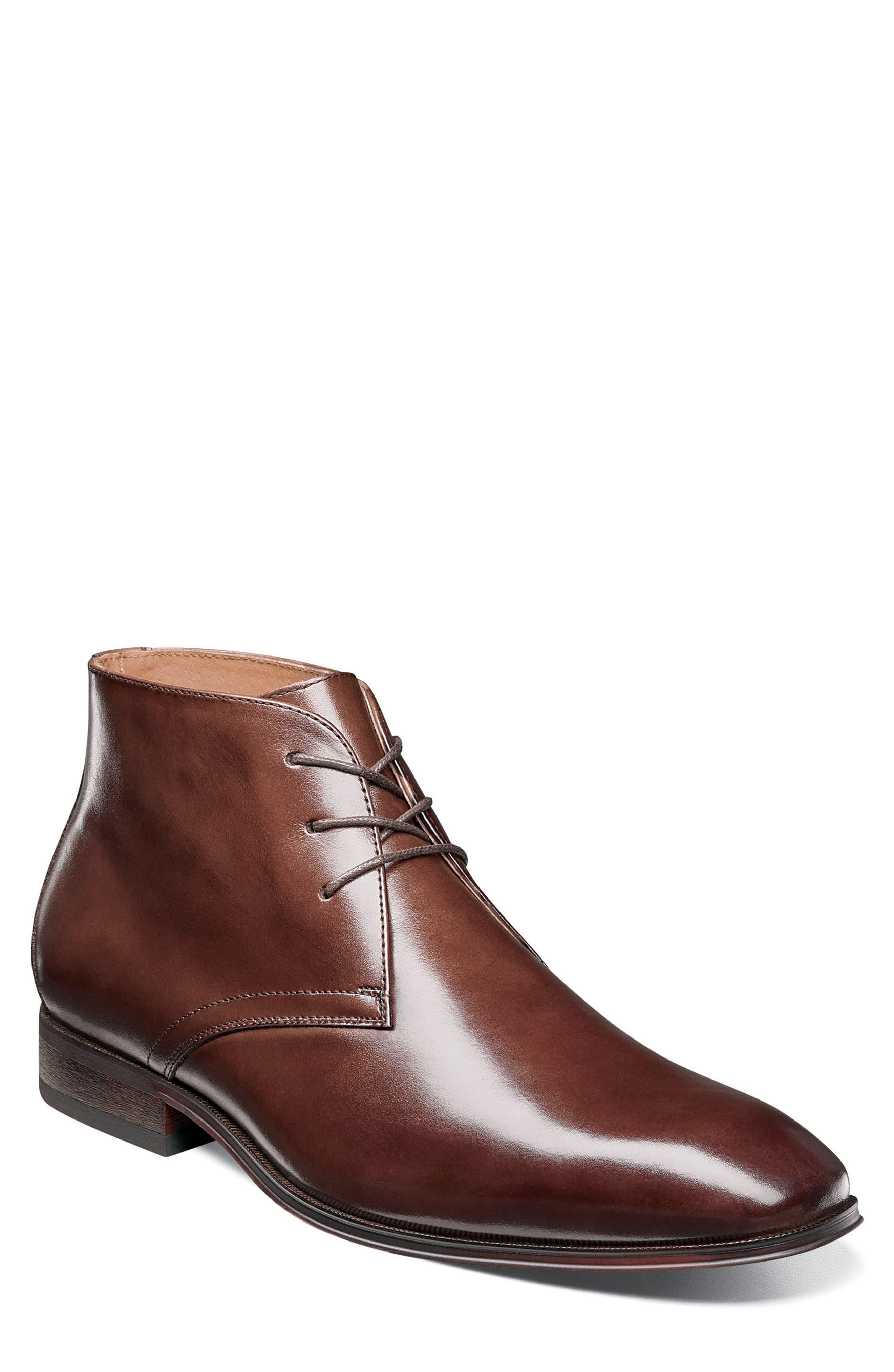 Corbetta Chukka Boot,                         Main,                         color, Cognac Leather
