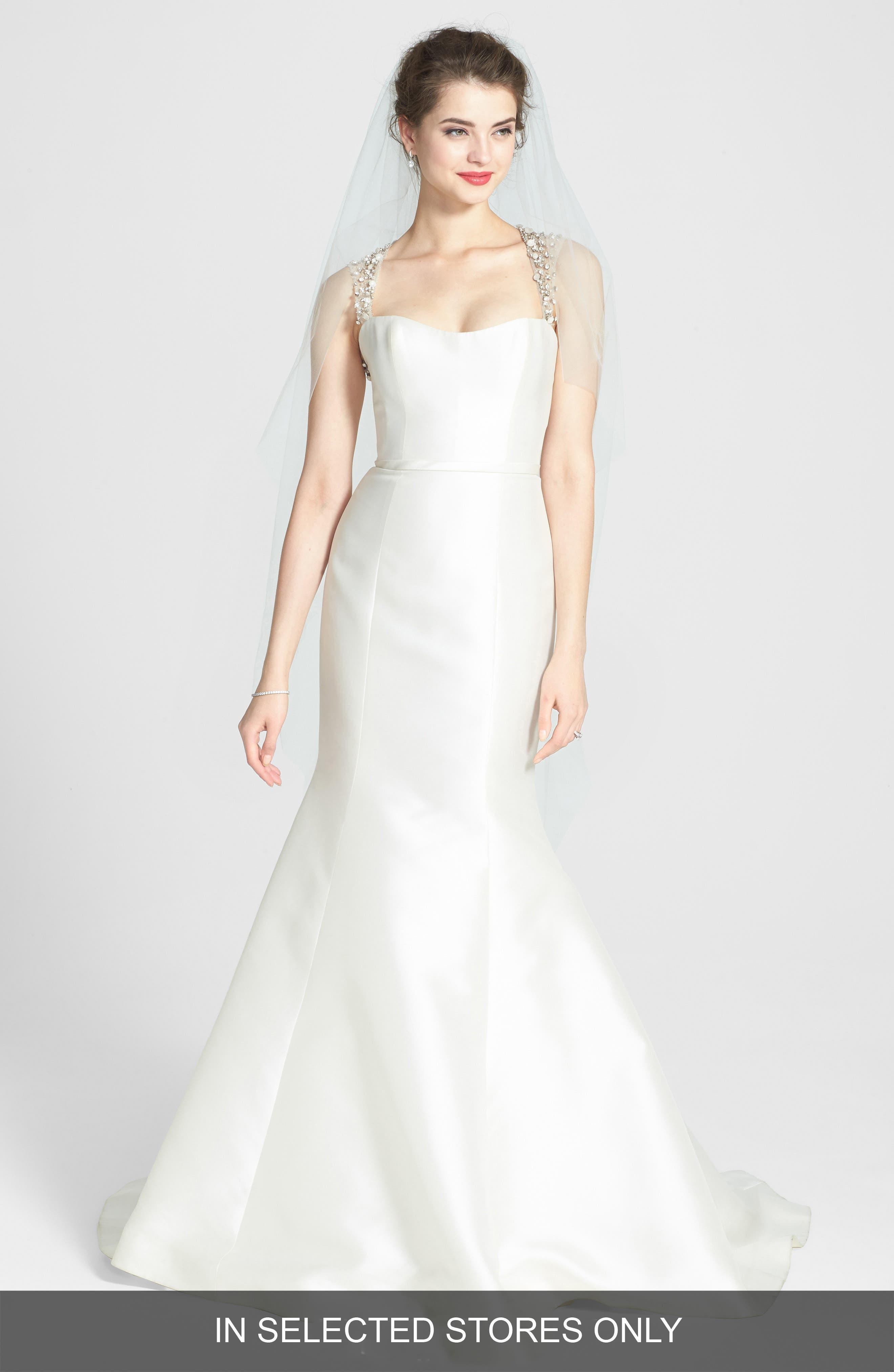 Amsale harbor wedding dress