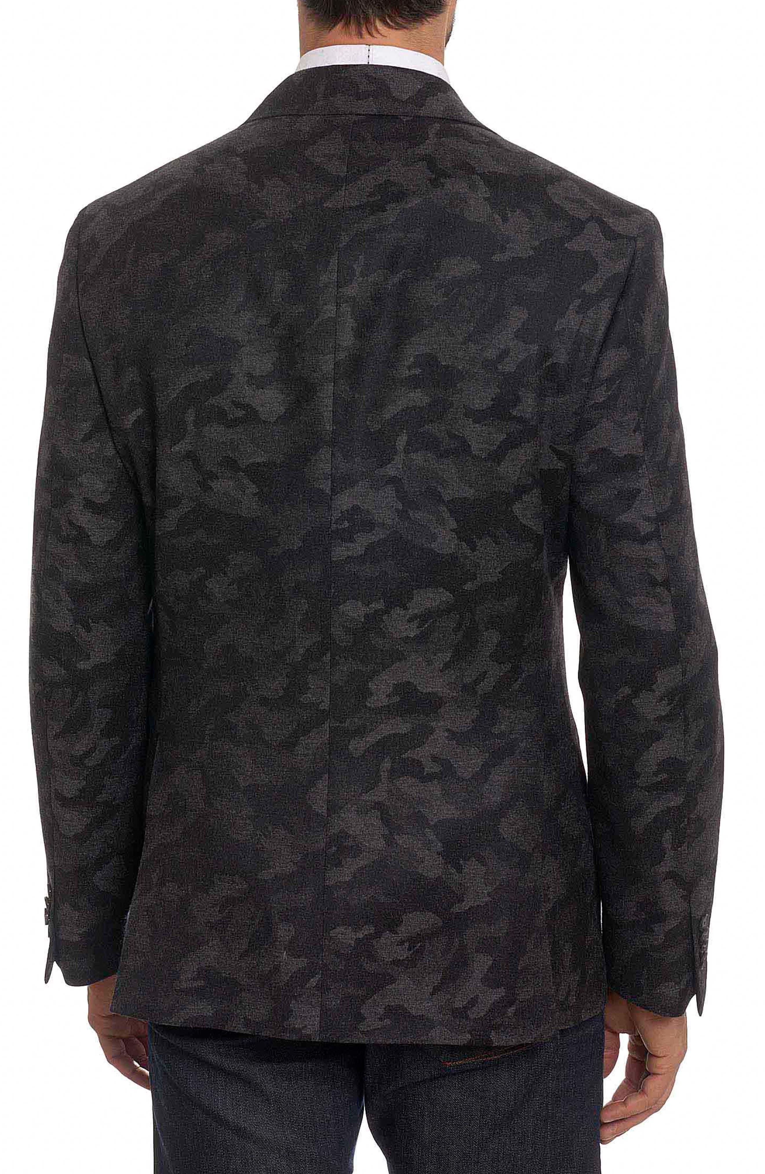 Portgain Classic Fit Sport Coat,                             Alternate thumbnail 2, color,                             Grey