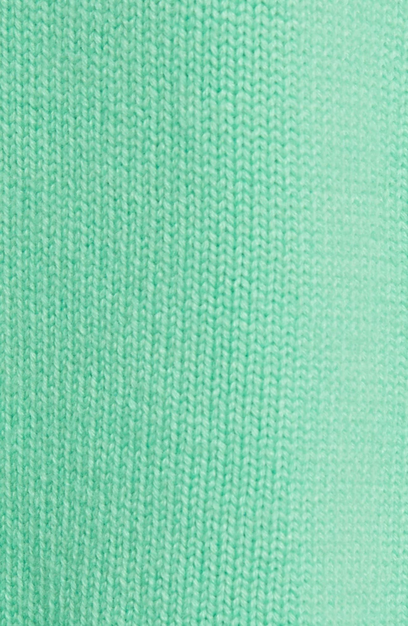 Alternate Image 5  - Tibi Blouson Sleeve Cashmere Hoodie