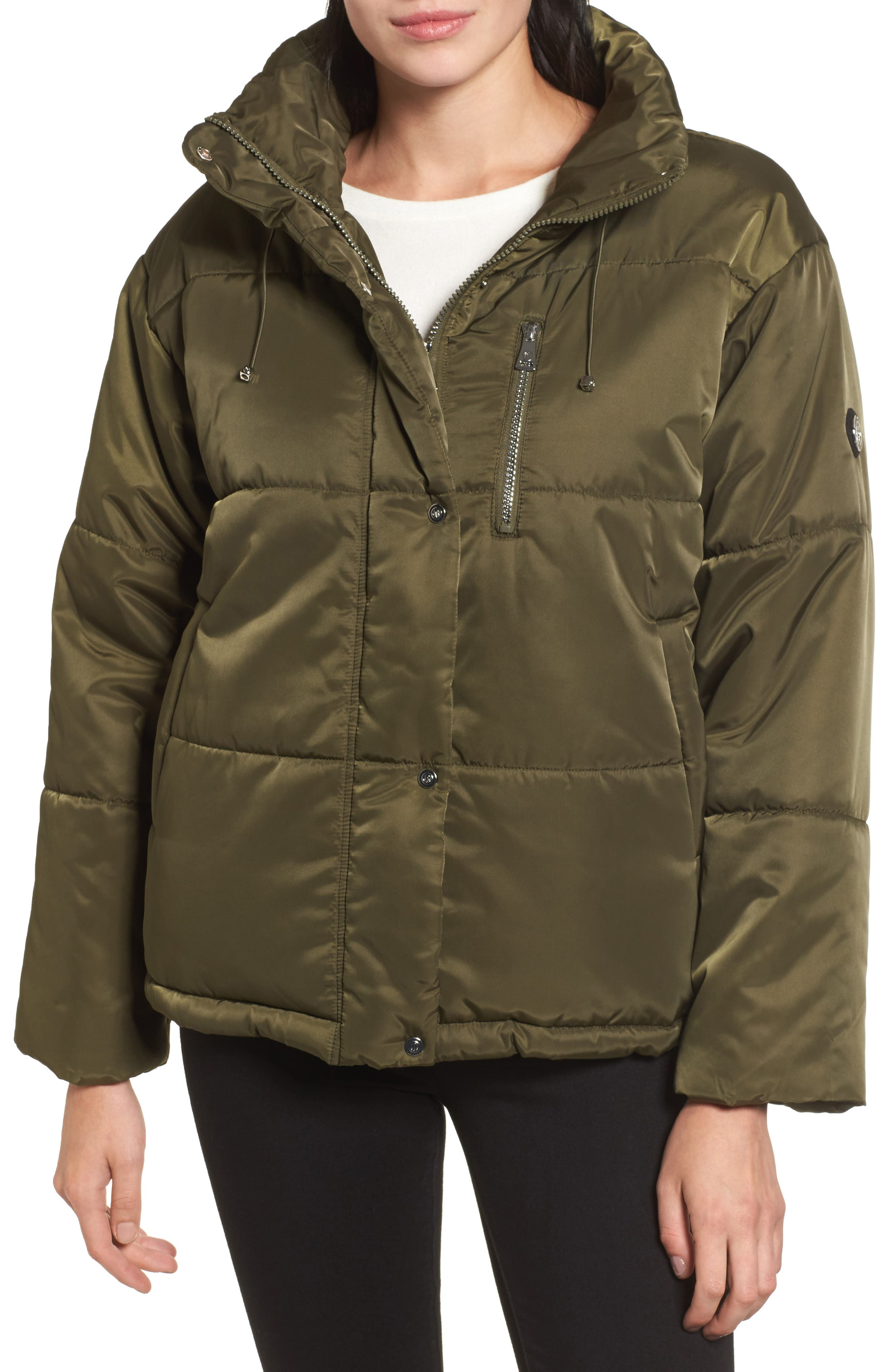 Alternate Image 1 Selected - Bernardo Oversize Puffer Jacket