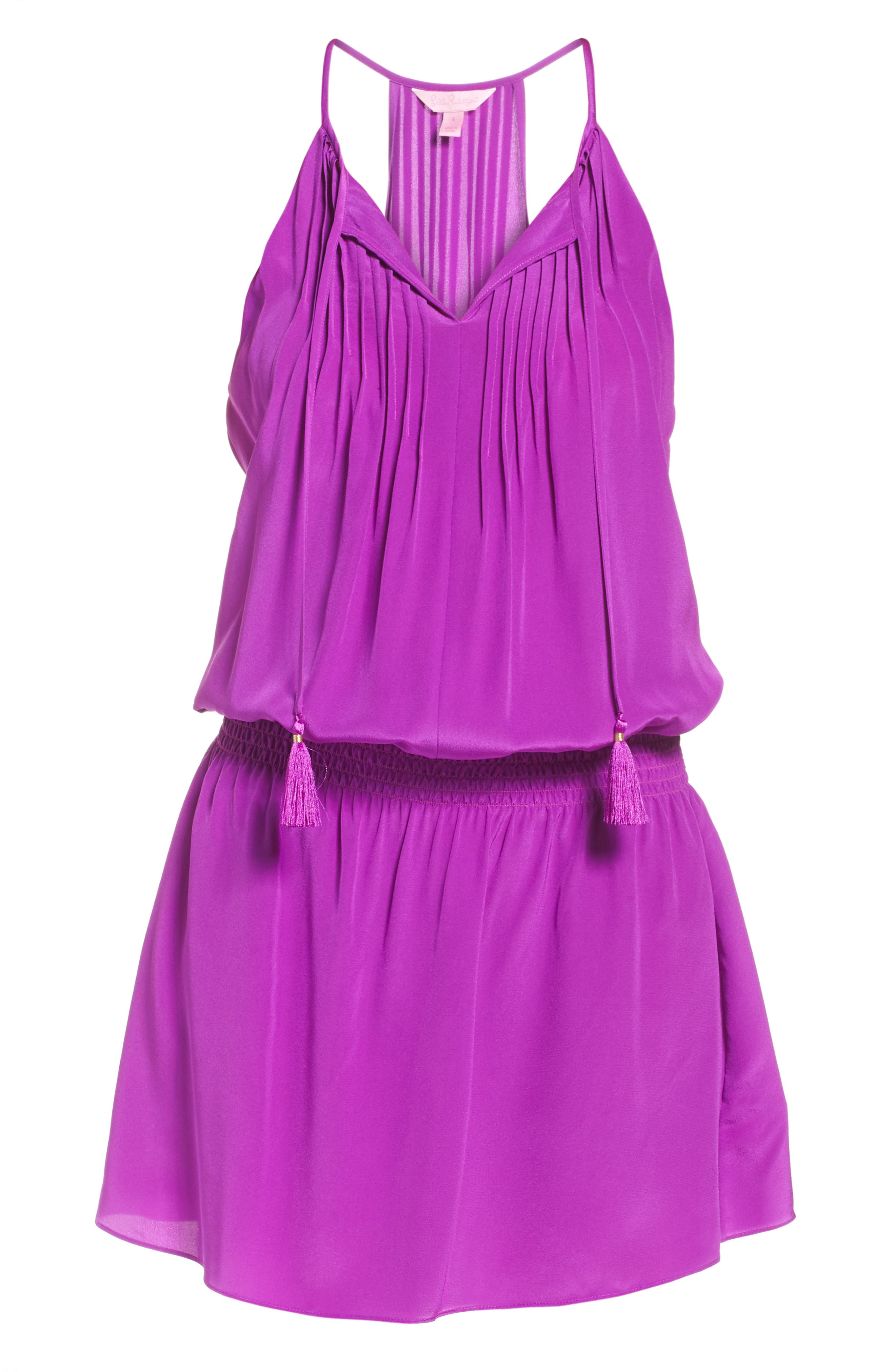 Alternate Image 6  - Lilly Pulitzer® Minda Silk Blouson Dress