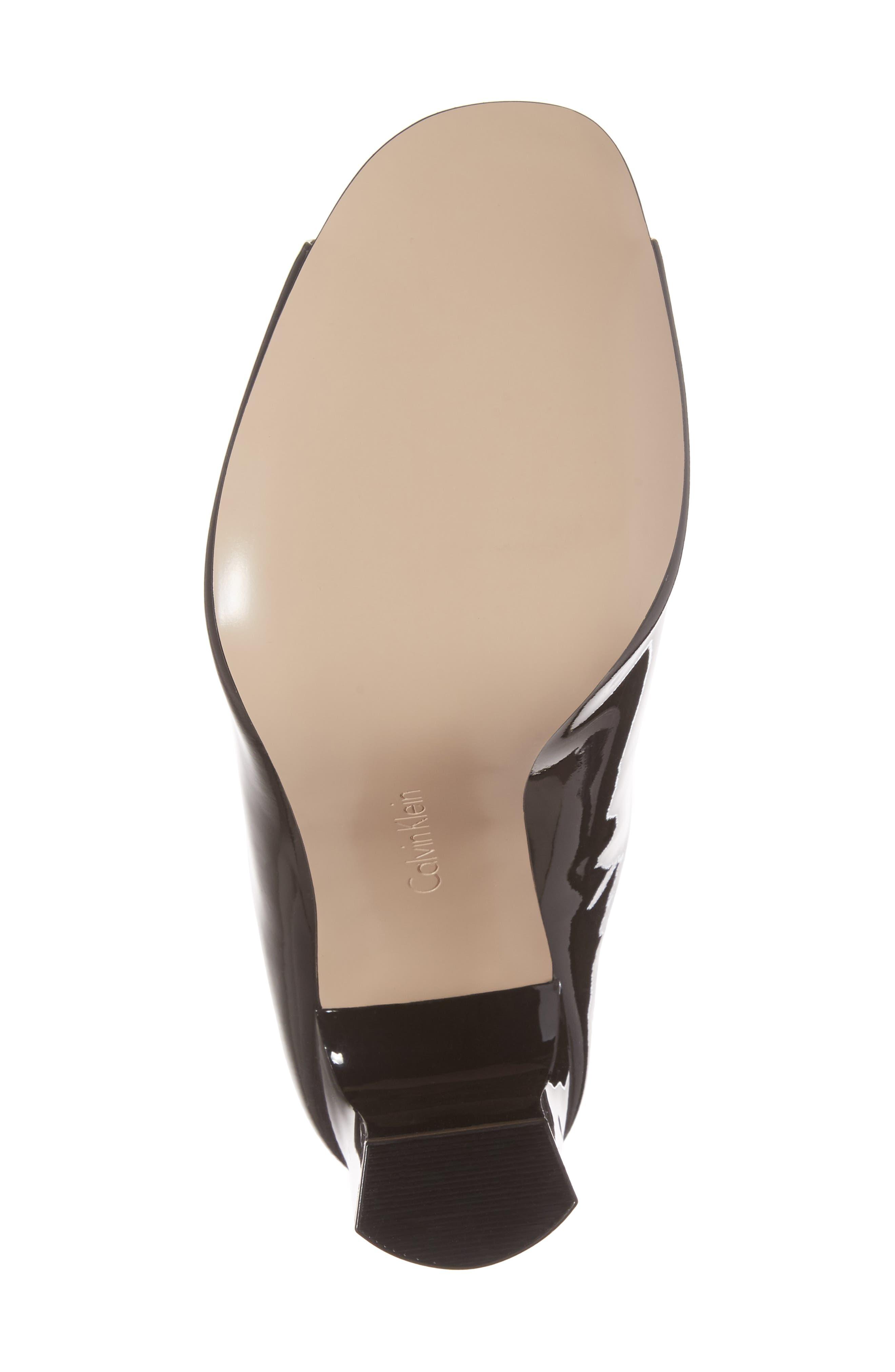 Alternate Image 6  - Calvin Klein Maera Open Toe Mule (Women)