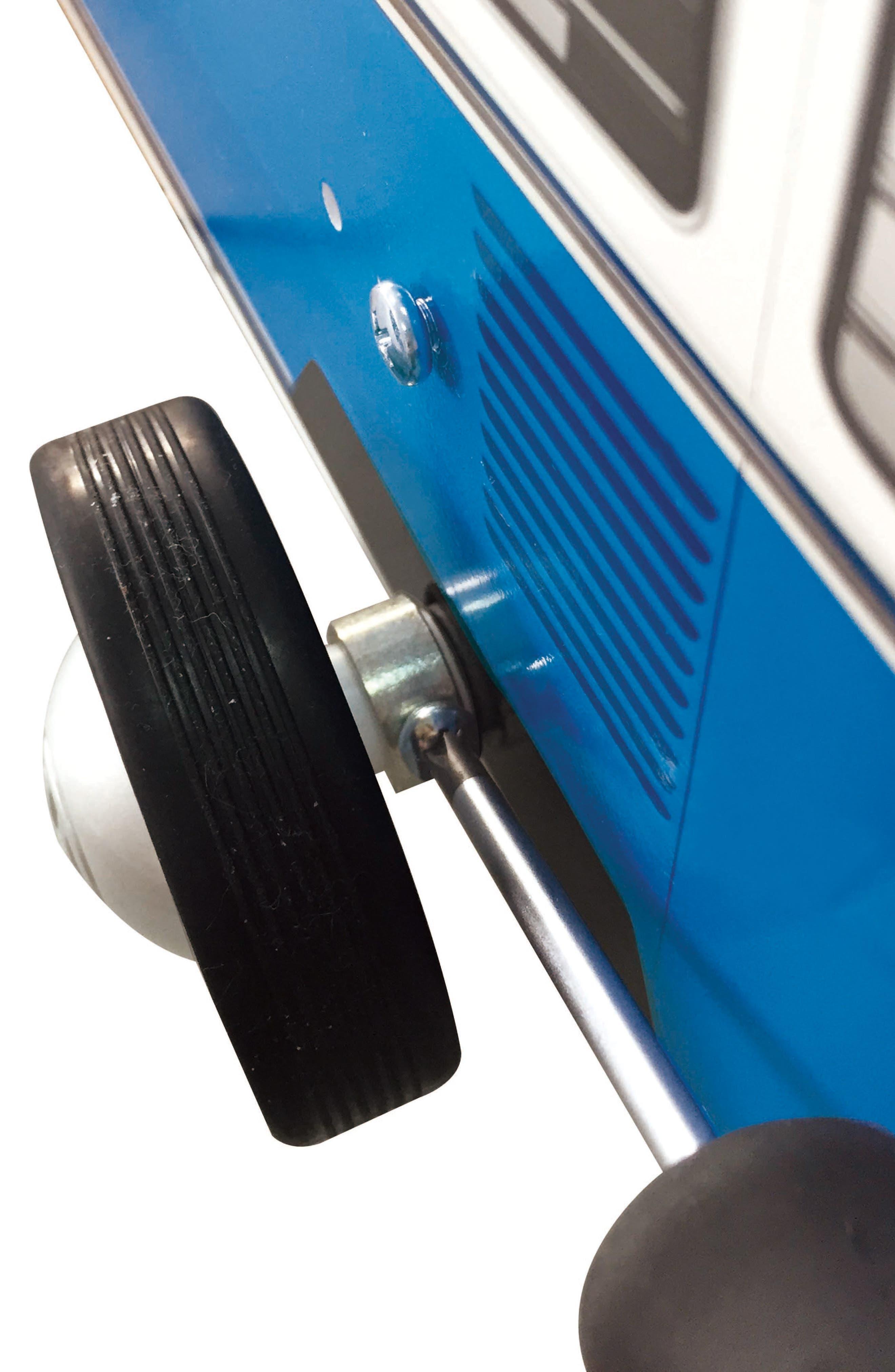 Classical VW Push Bus,                             Alternate thumbnail 6, color,                             Blue