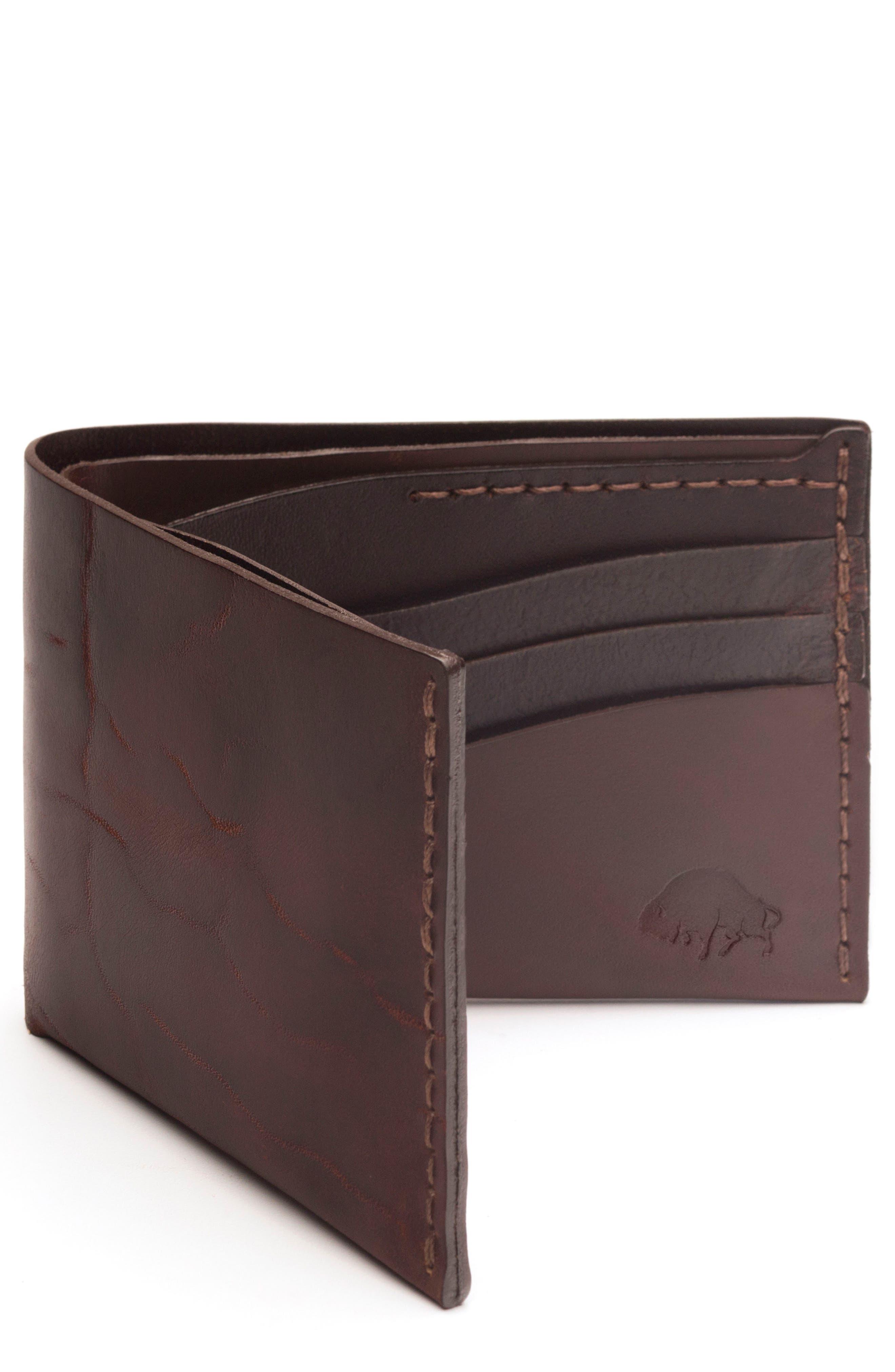 Ezra Arthur No. 8 Leather Wallet