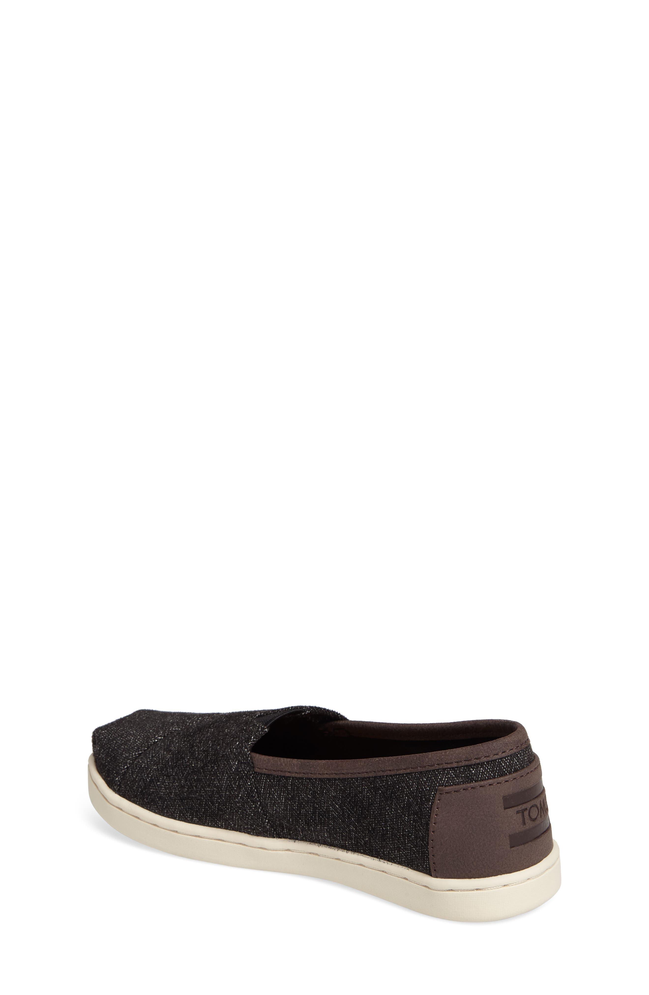 Alternate Image 2  - TOMS Herringbone Slip-On Sneaker (Toddler, Little Kid & Big Kid)