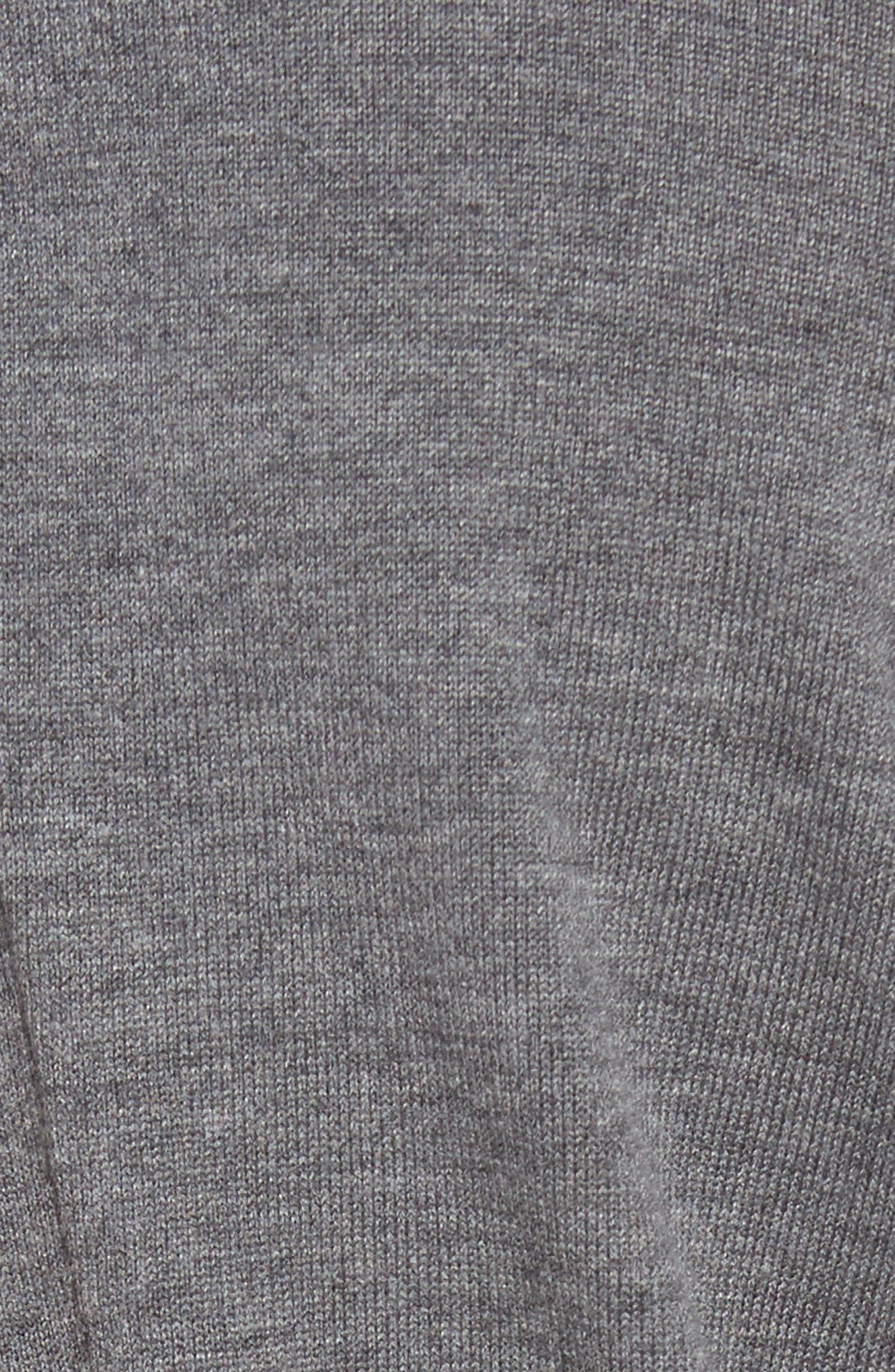 Alternate Image 5  - Chelsea28 Pleated Hem Sweater