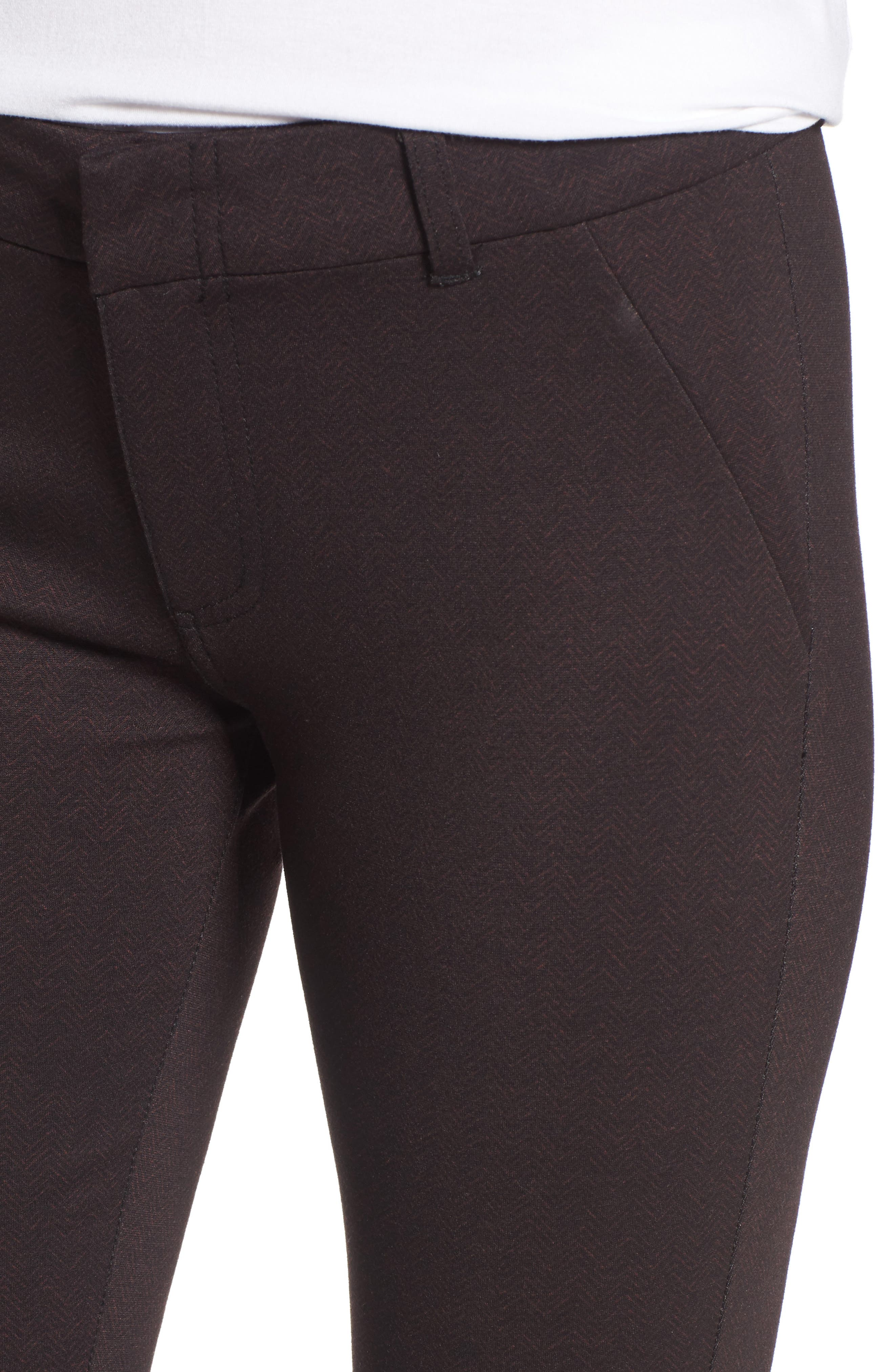 Alternate Image 4  - KUT from the Kloth Mia Print Ankle Skinny Pants