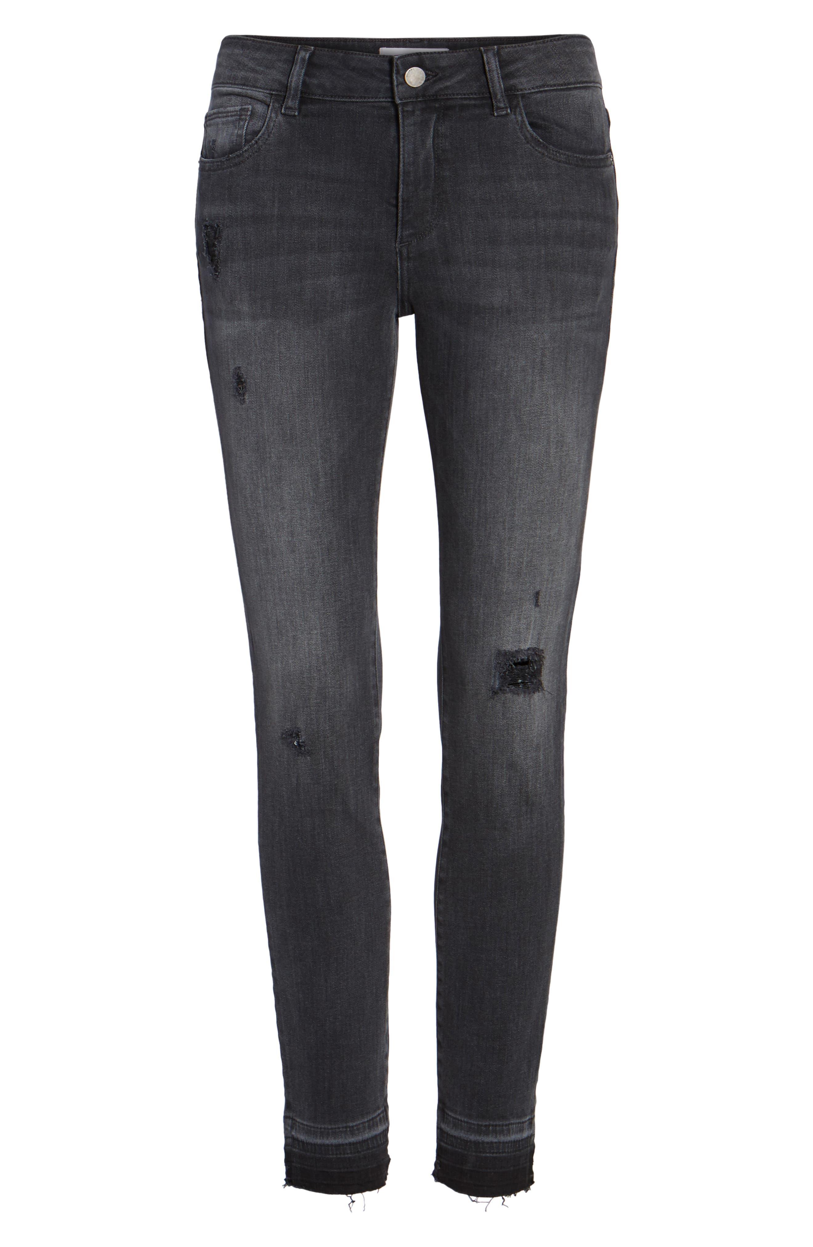 Alternate Image 6  - DL1961 Emma Power Legging Jeans (Seneca)