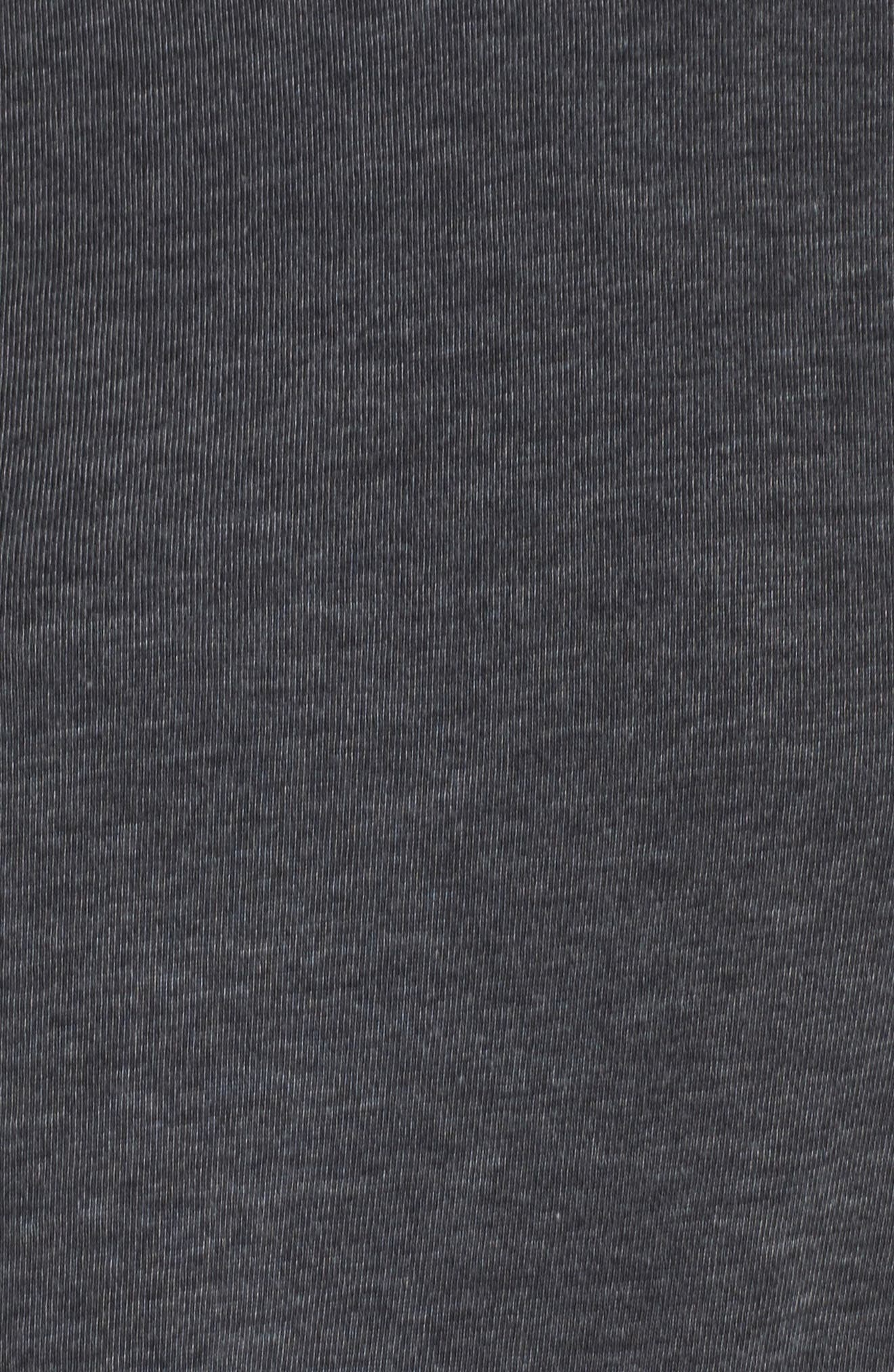 Lazy Day Pullover,                             Alternate thumbnail 5, color,                             Washed Black