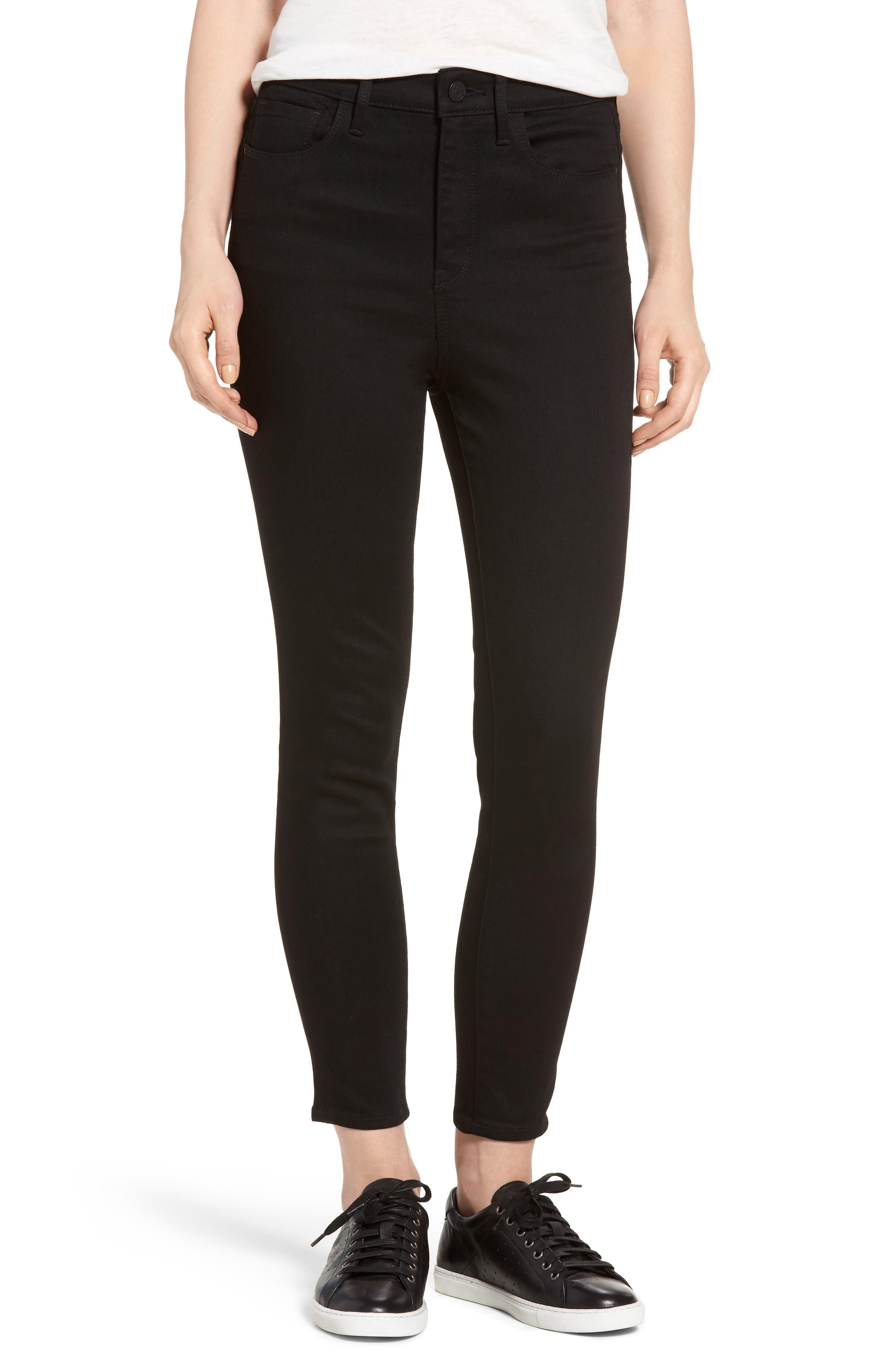 TREASURE & BOND High Waist Crop Skinny Jeans