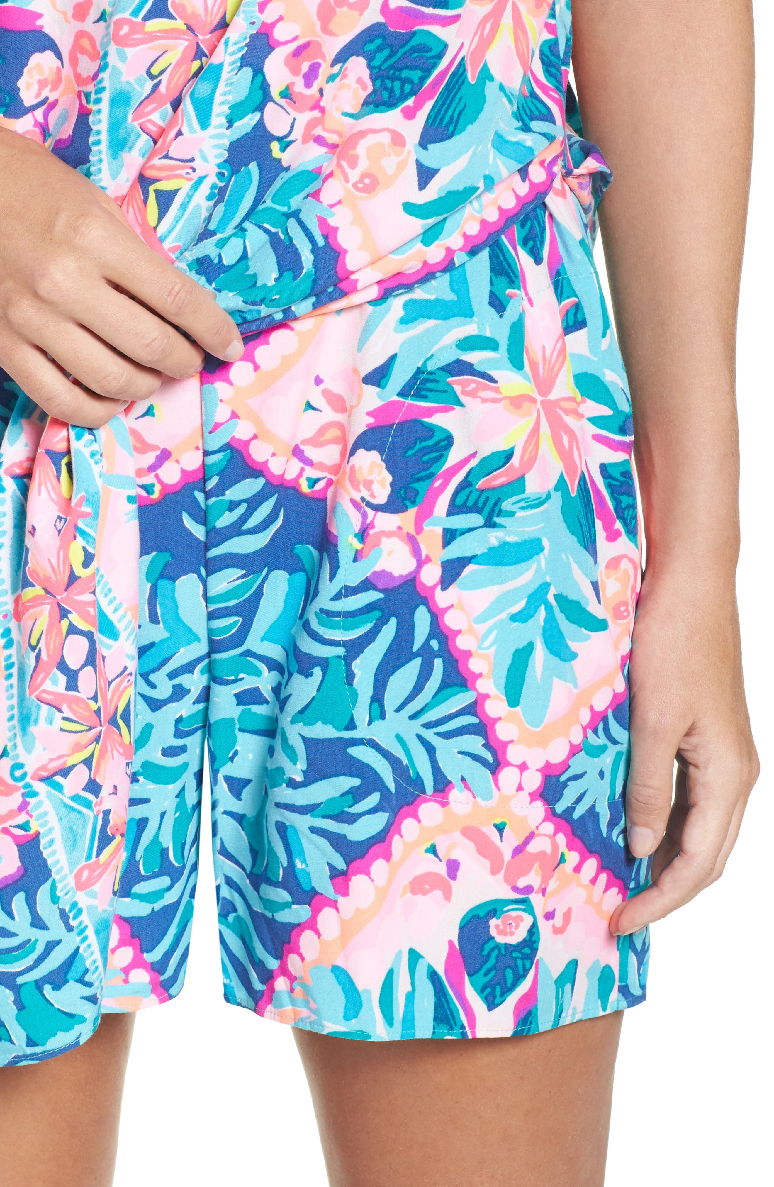 Alternate Image 4  - Lilly Pulitzer® Tanya Skirted Romper