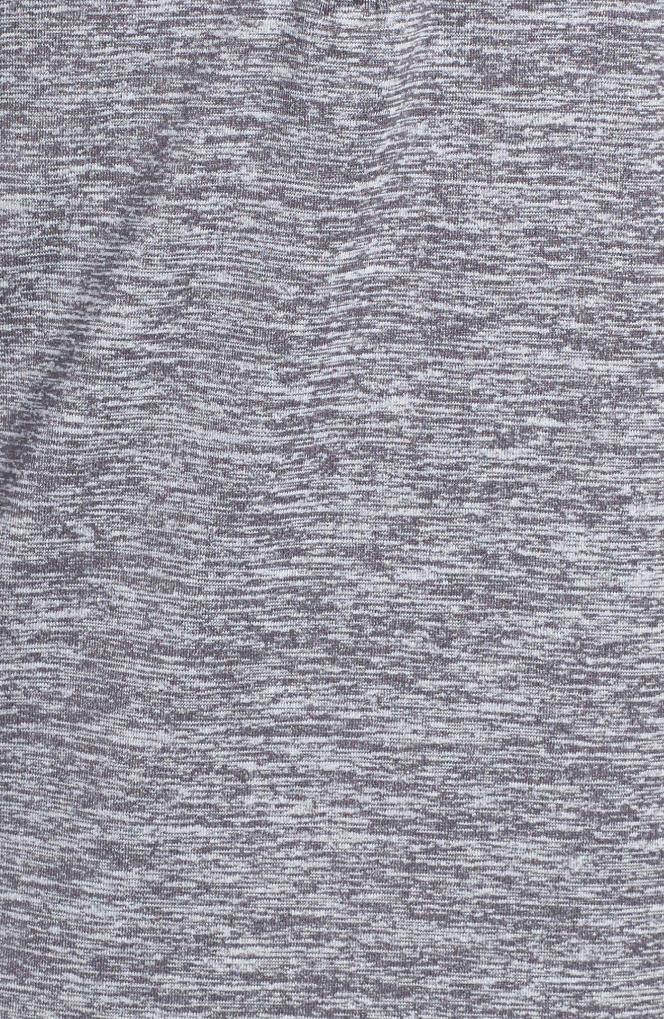 Dry Element Half Zip Top,                             Alternate thumbnail 6, color,                             Dark Grey/ Heather