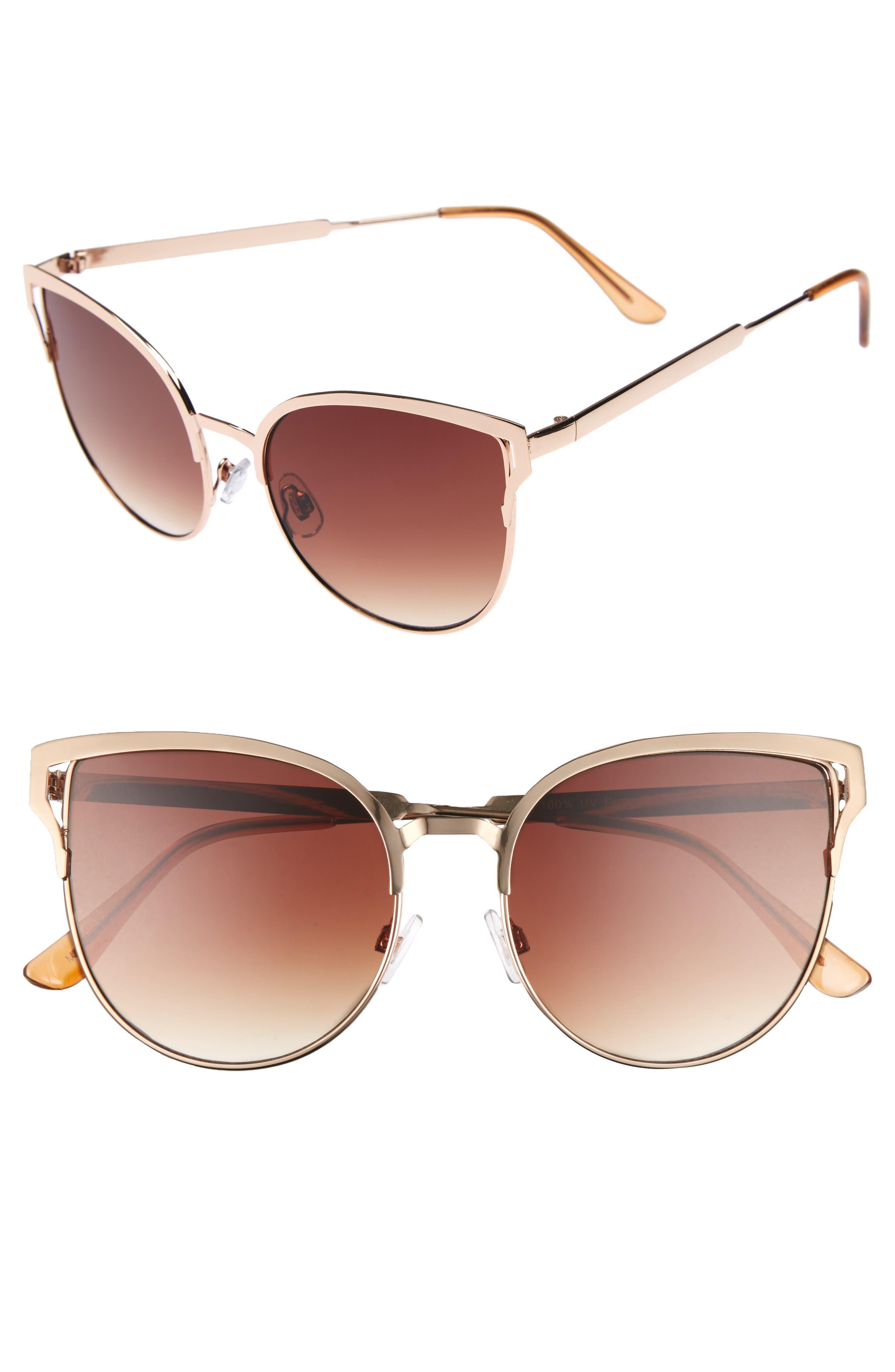 BP. 56mm Cat Eye Sunglasses