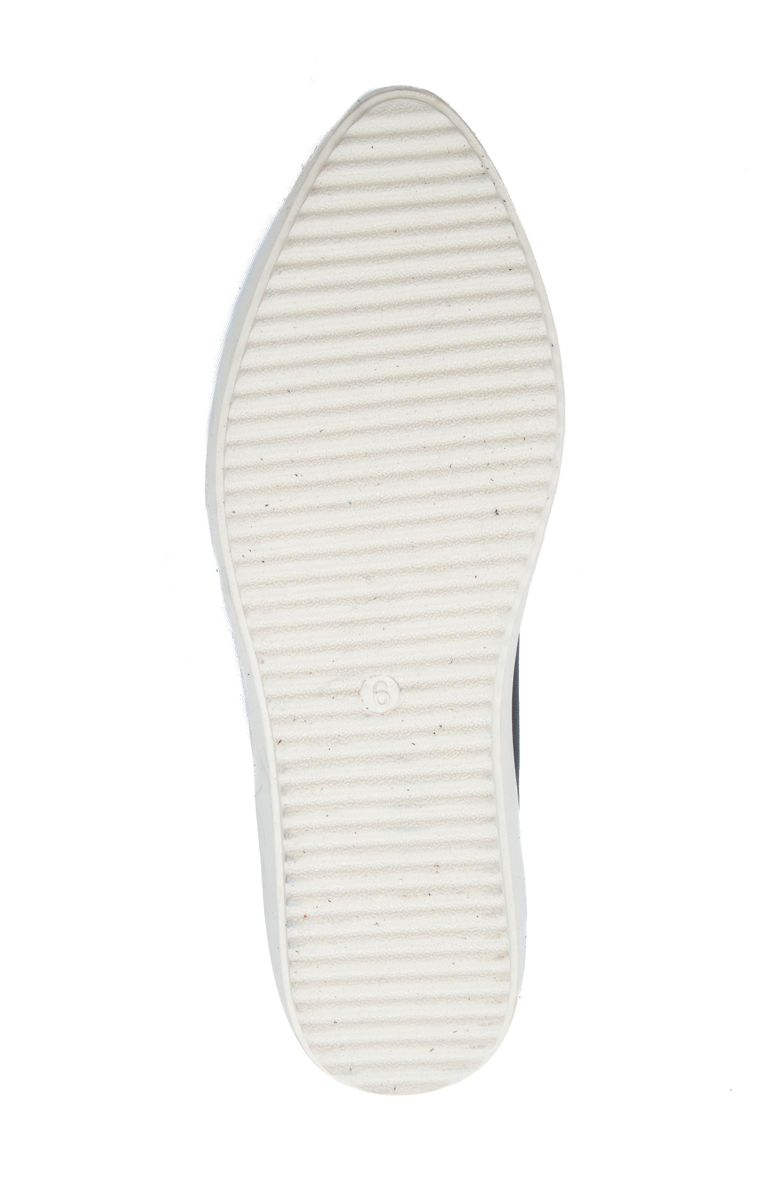Roe Slip-On Sneaker,                             Alternate thumbnail 6, color,                             Black