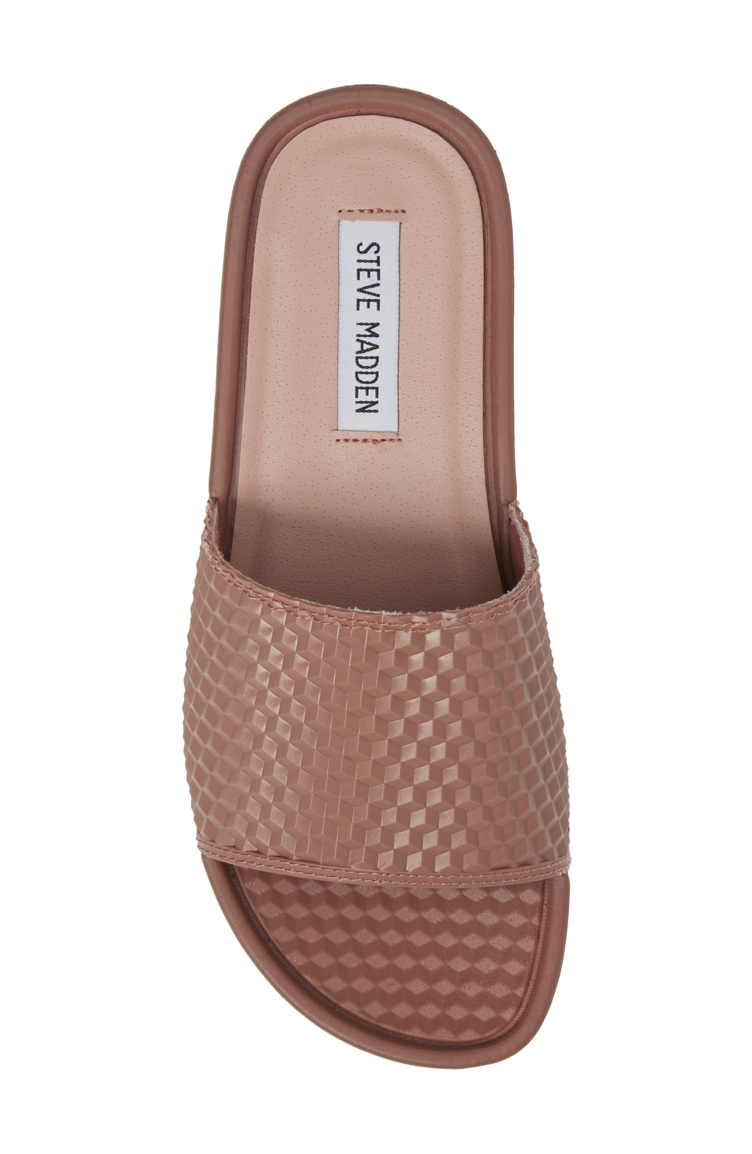 Alternate Image 5  - Steve Madden Sharpie Slide Sandal (Women)