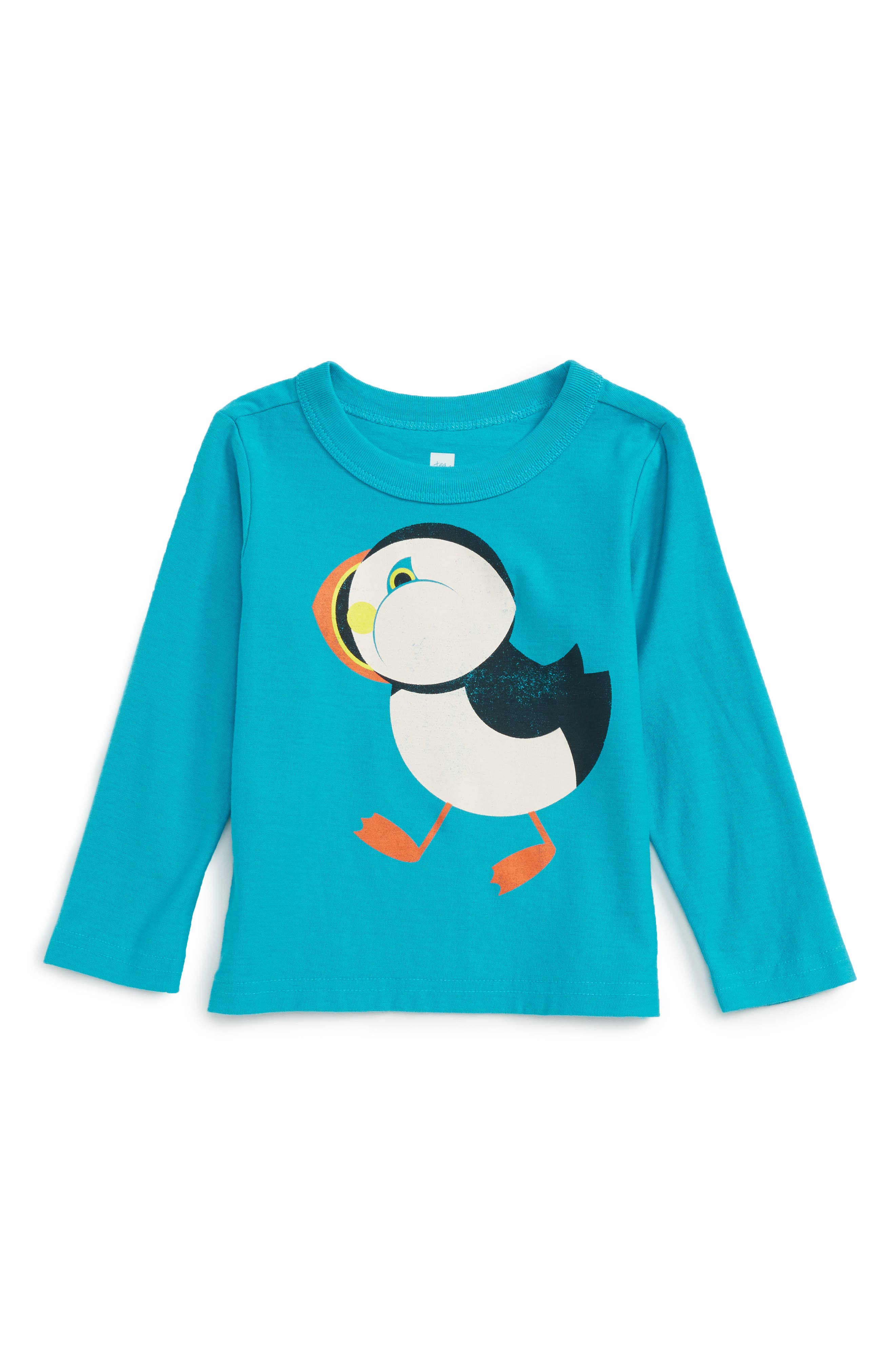 Tea Collection Puffin Graphic T-Shirt (Baby Boys)