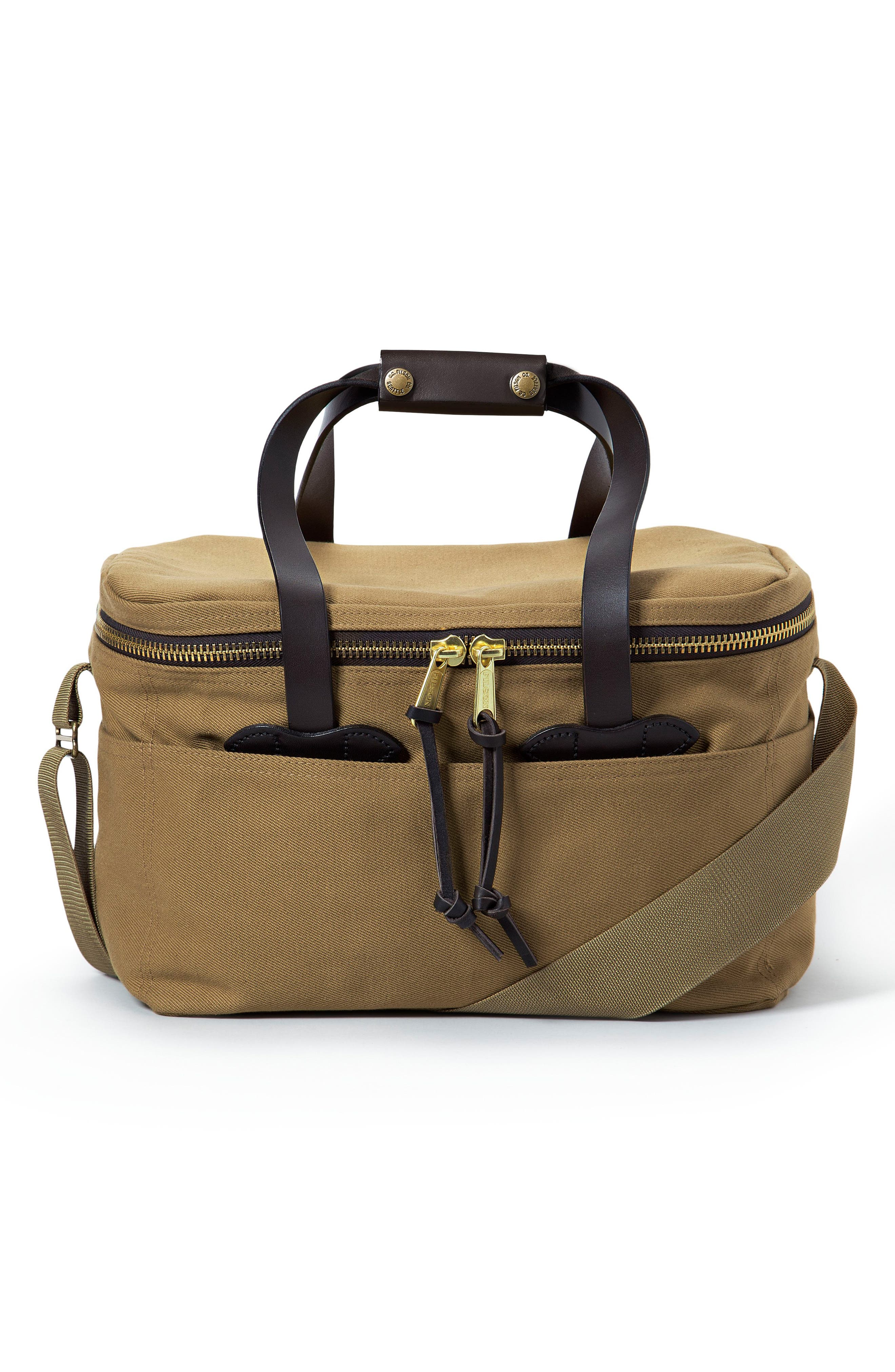 Large Soft Sided Cooler,                             Main thumbnail 1, color,                             Tan