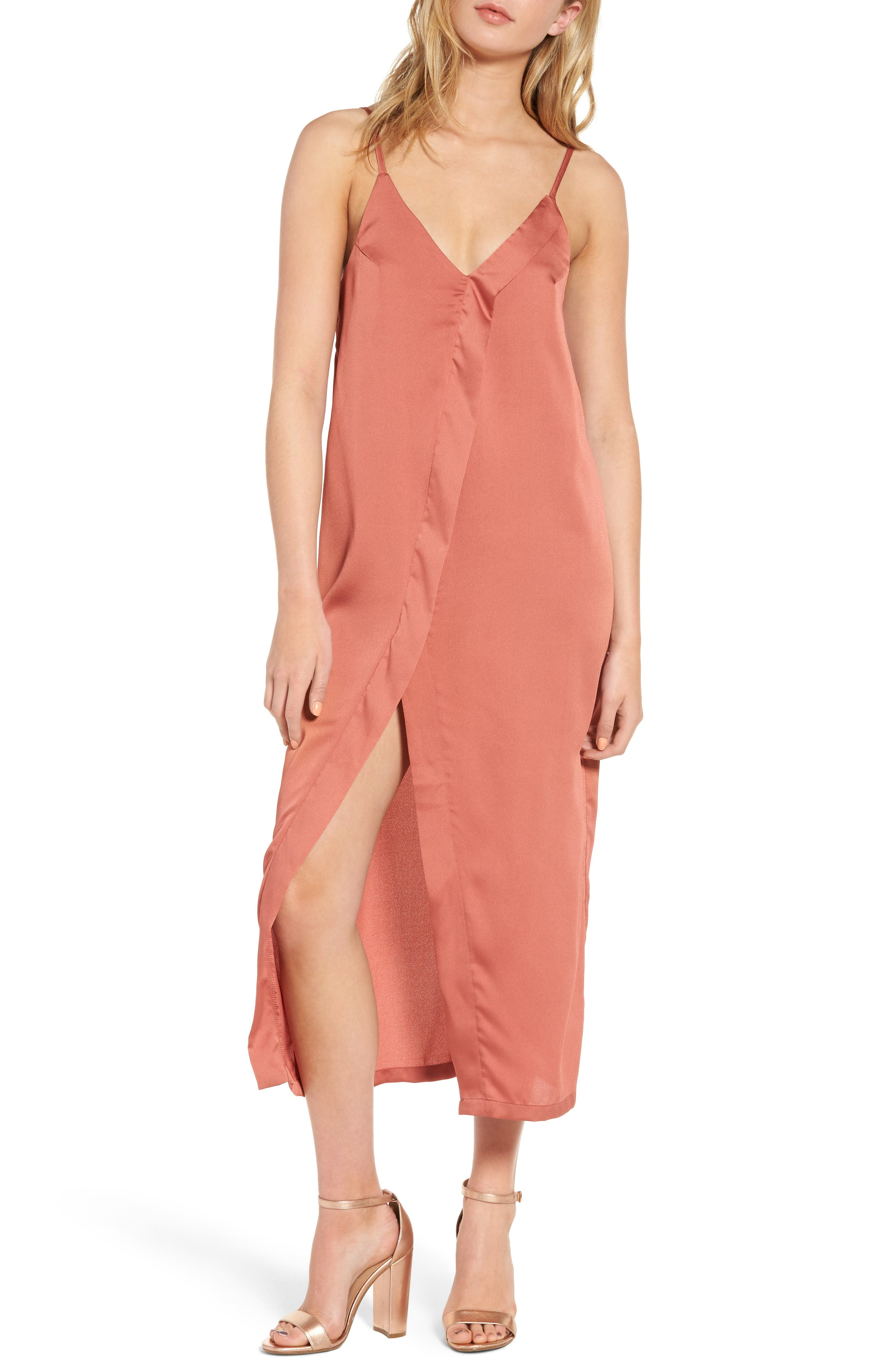 The Fifth Label Cue the Beats Midi Slipdress