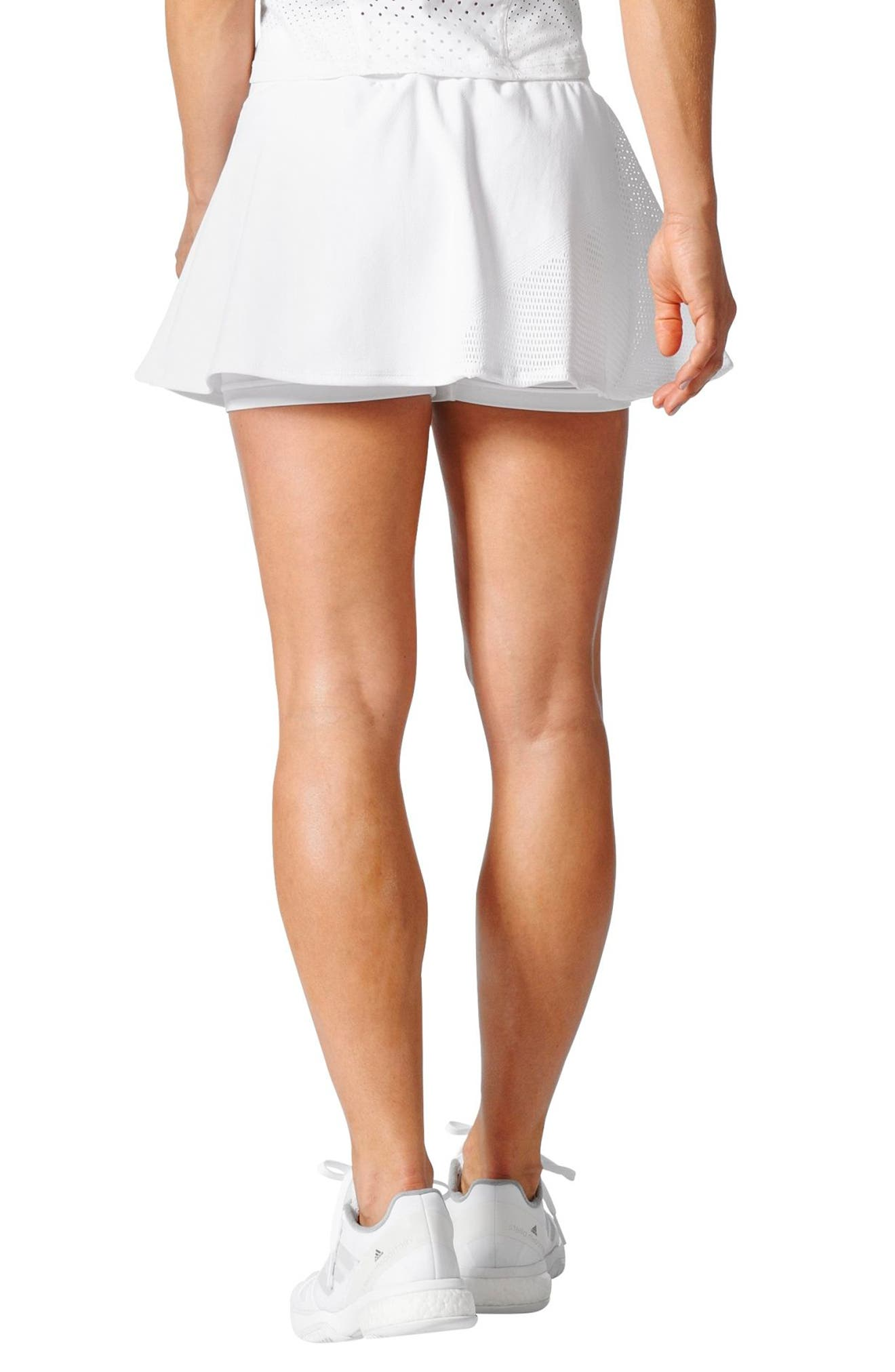 Barricade Climacool<sup>®</sup> Tennis Skirt,                             Alternate thumbnail 2, color,                             White