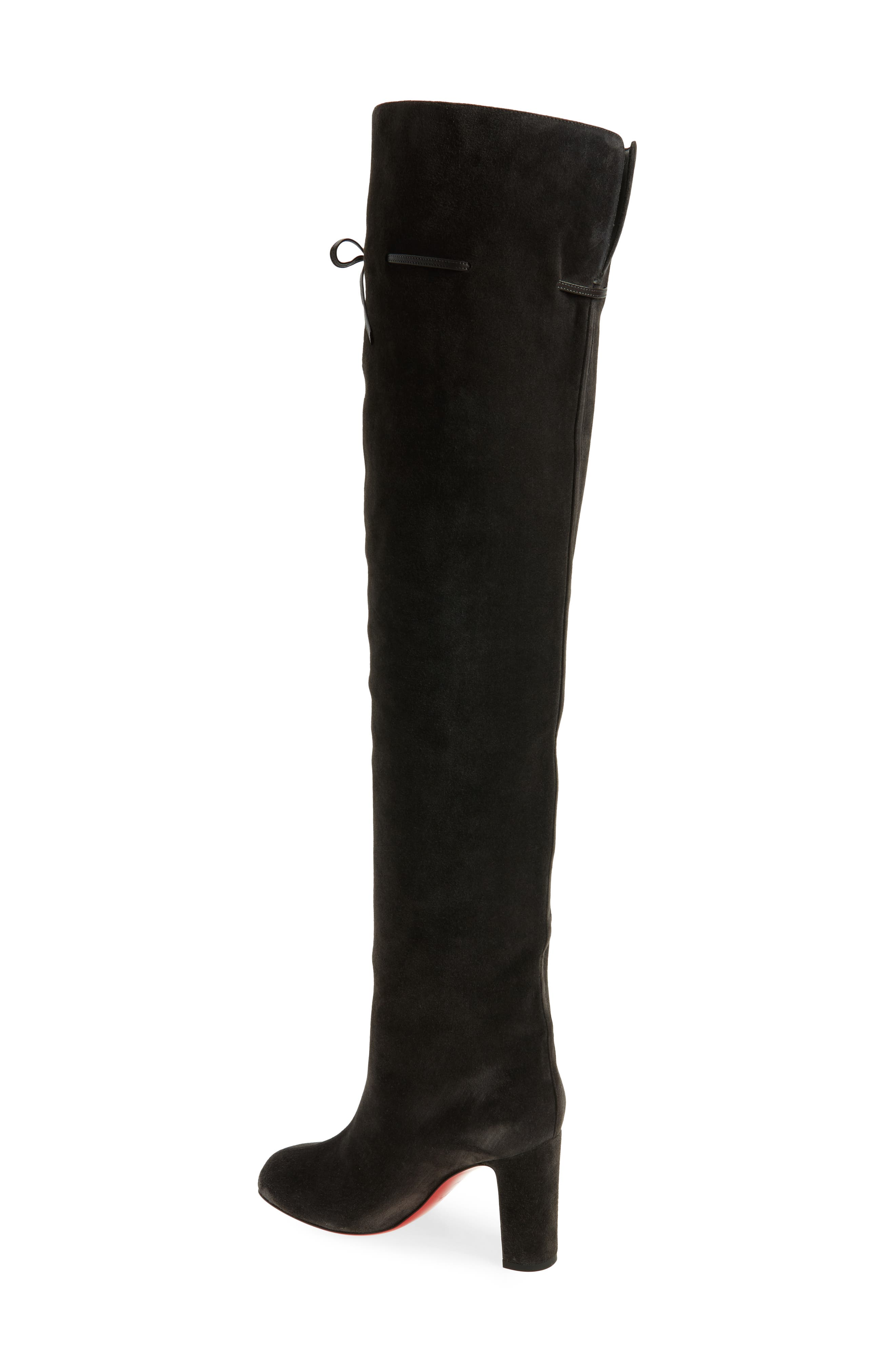 Alta Gant Over the Knee Boot,                             Alternate thumbnail 2, color,                             Grey Suede