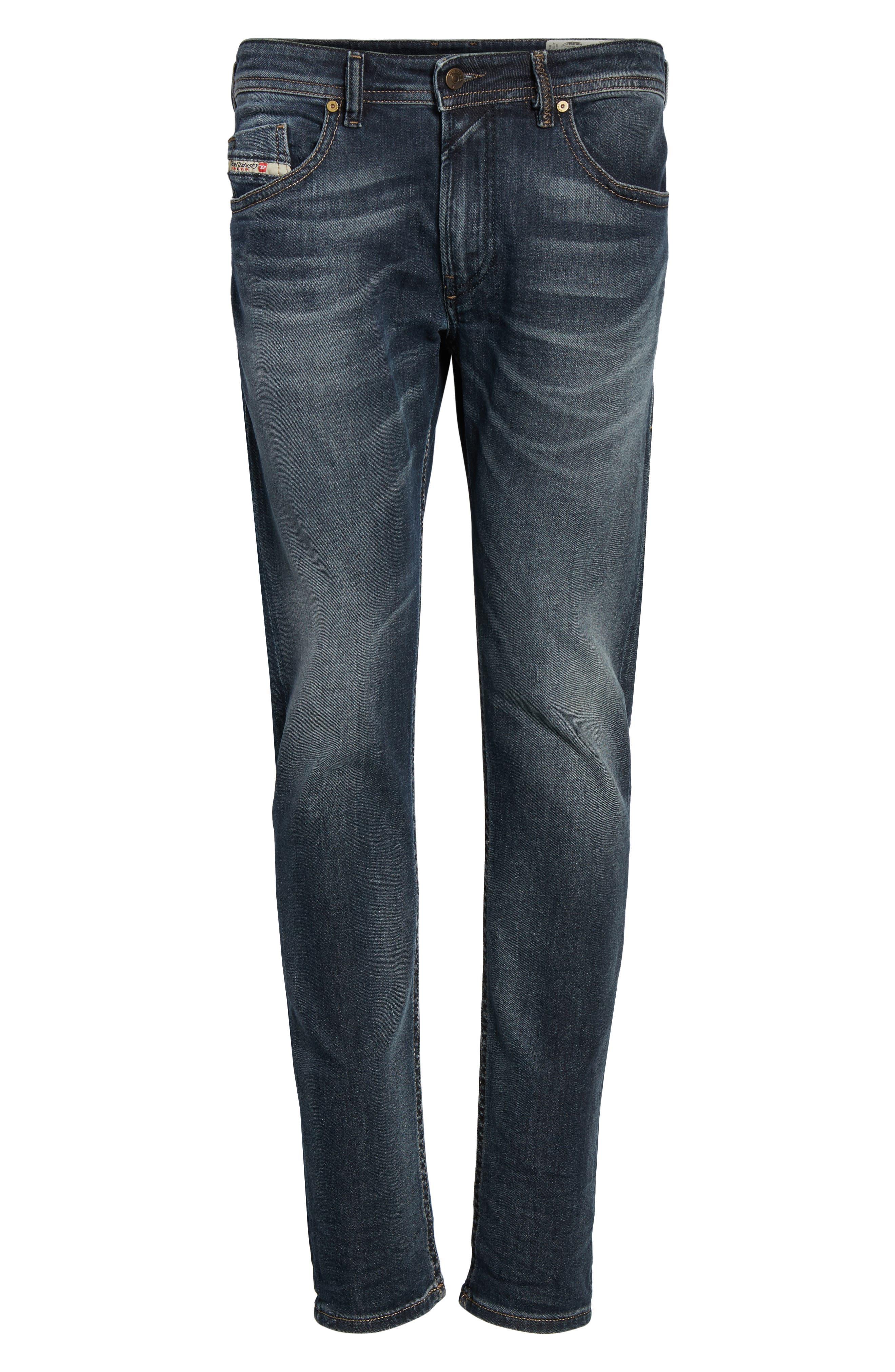 Alternate Image 6  - DIESEL® Thommer Slim Fit Jeans