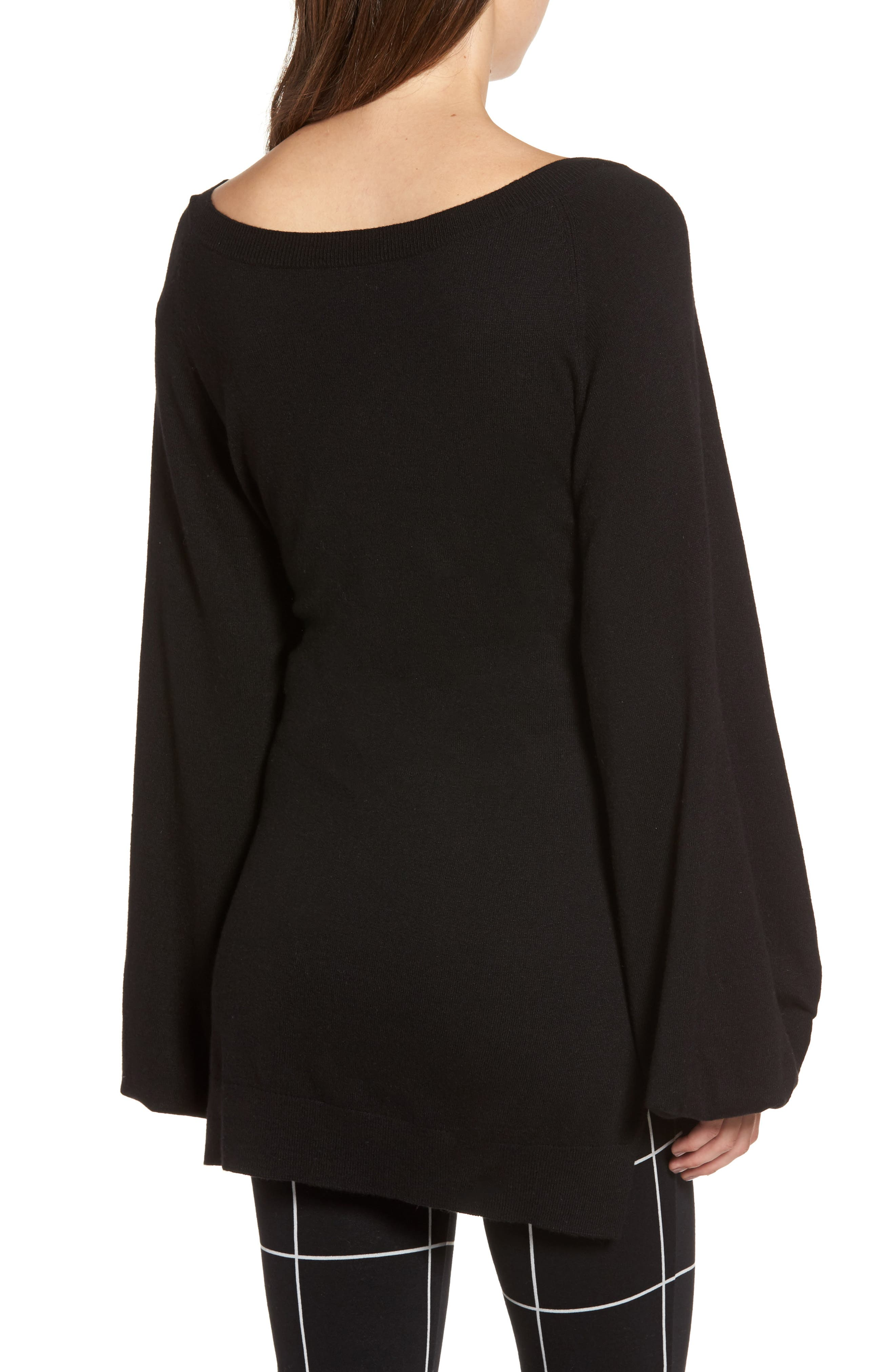 Alternate Image 2  - Leith Corset Tunic Sweater