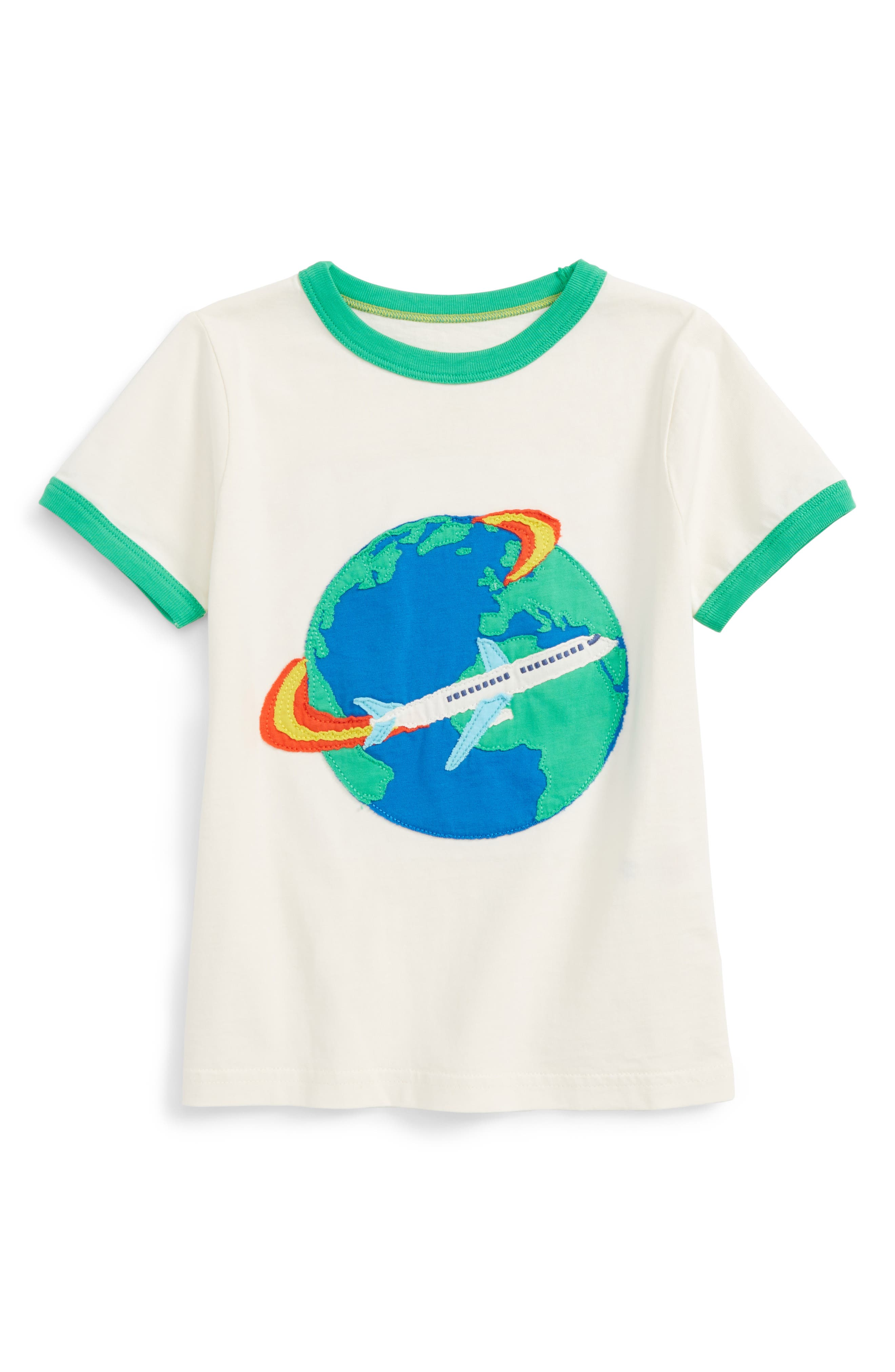 Mini Boden Explorer Appliqué T-Shirt (Toddler Boys, Little Boys & Big Boys)