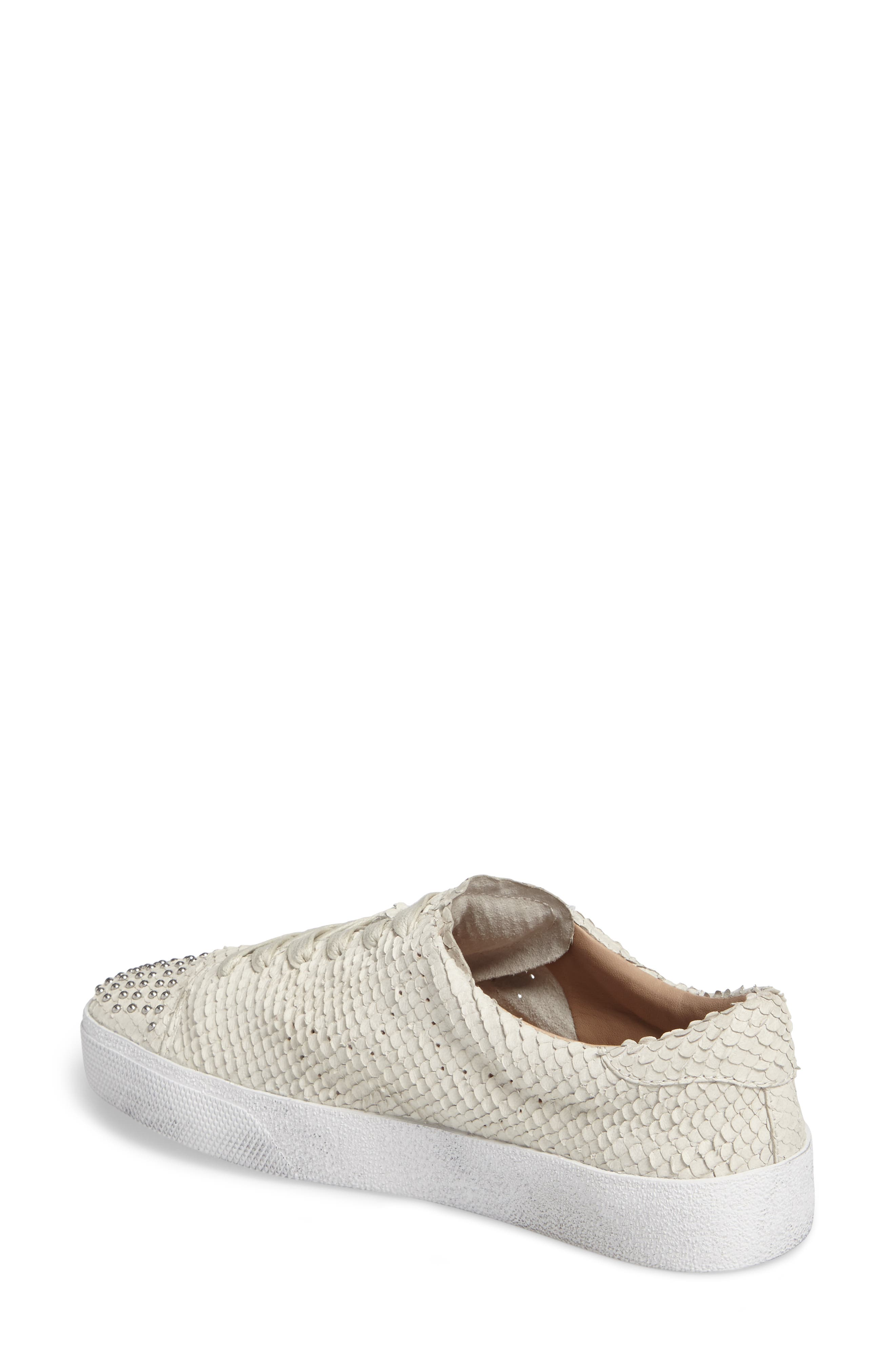 Catcall Studded Sneaker,                             Alternate thumbnail 2, color,                             Vodka/ Silver