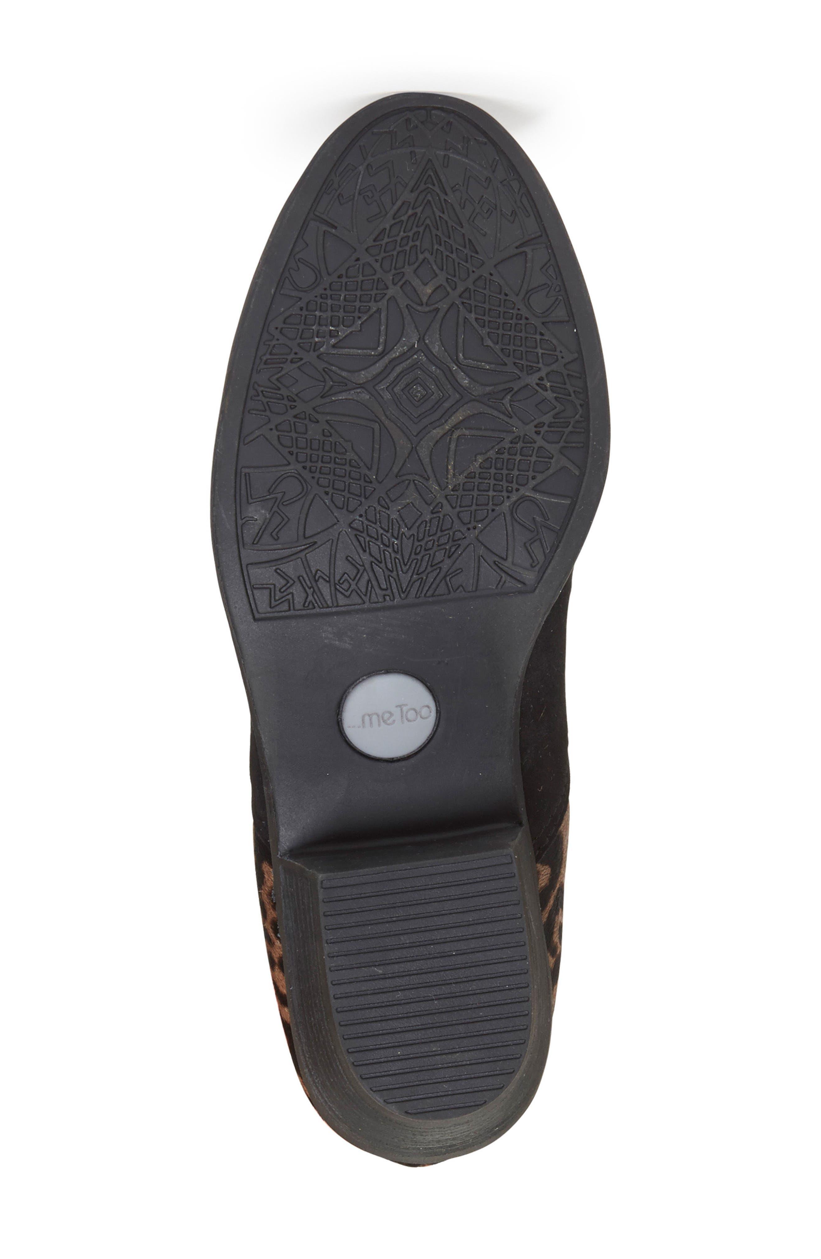 Zena Ankle Boot,                             Alternate thumbnail 6, color,                             Black/ Ash Jaguar Suede